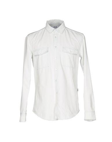 Джинсовая рубашка MSGM 42594803BR