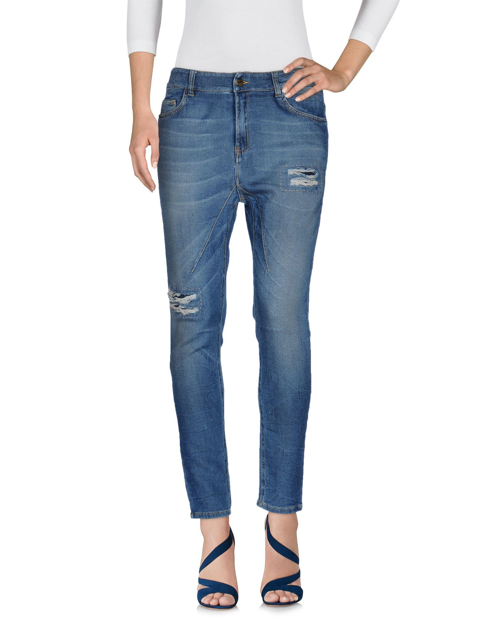 Фото MANILA GRACE DENIM Джинсовые брюки. Купить с доставкой