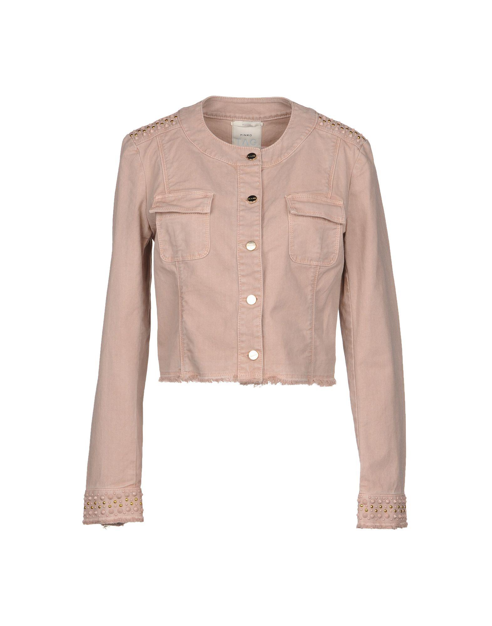 PINKO Джинсовая верхняя одежда folk джинсовая верхняя одежда