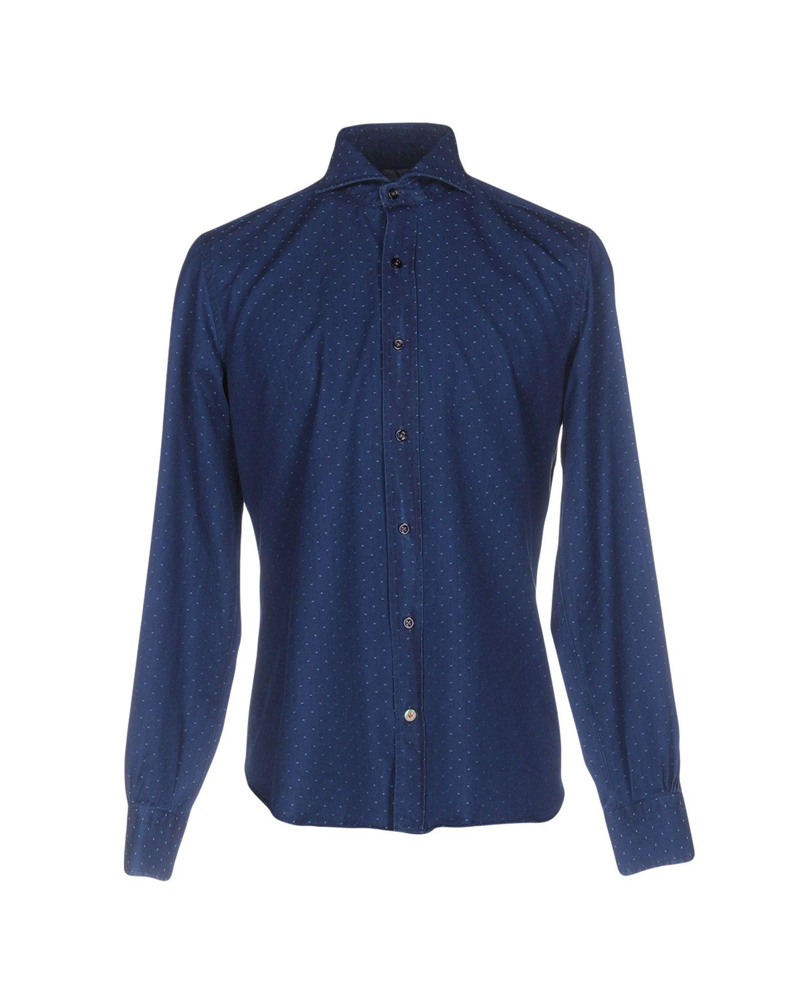 где купить  MAZZARELLI Джинсовая рубашка  по лучшей цене