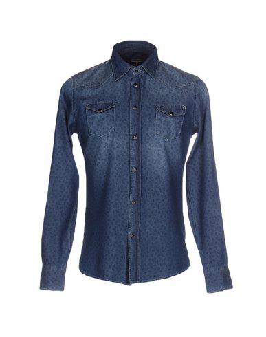 Джинсовая рубашка от 0/ZERO CONSTRUCTION
