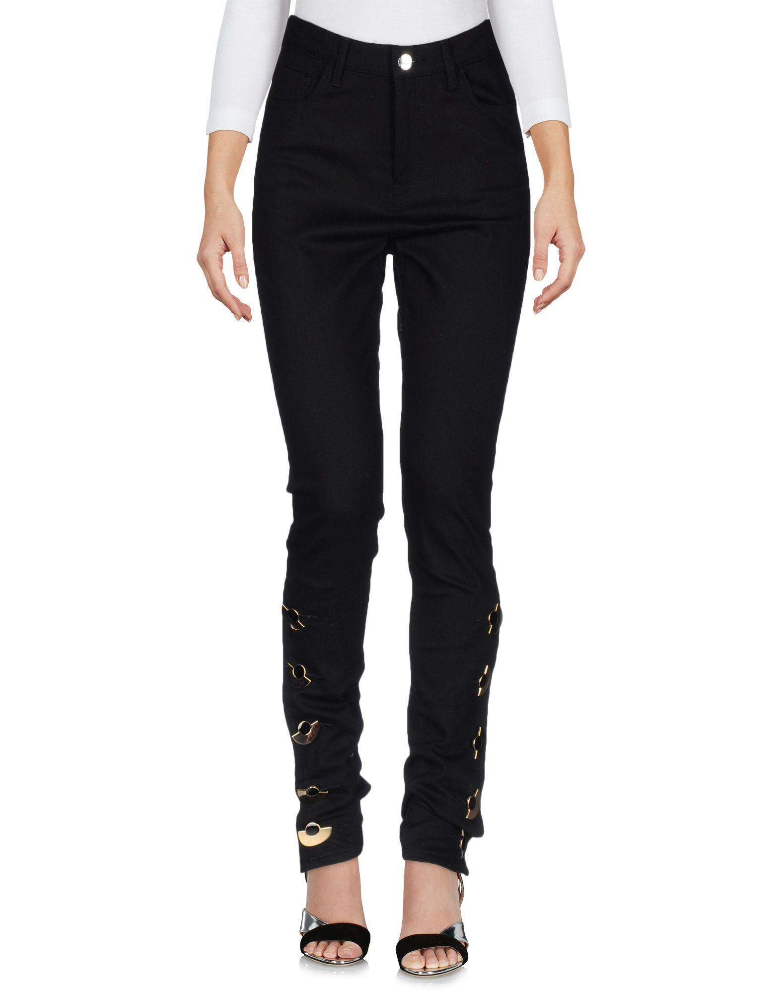 ANTHONY VACCARELLO Denim Pants in Black