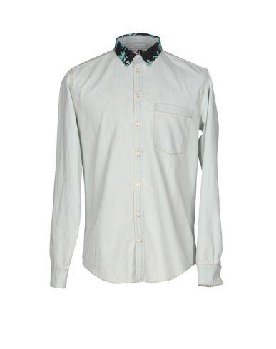 Джинсовая рубашка MSGM 42595671FV