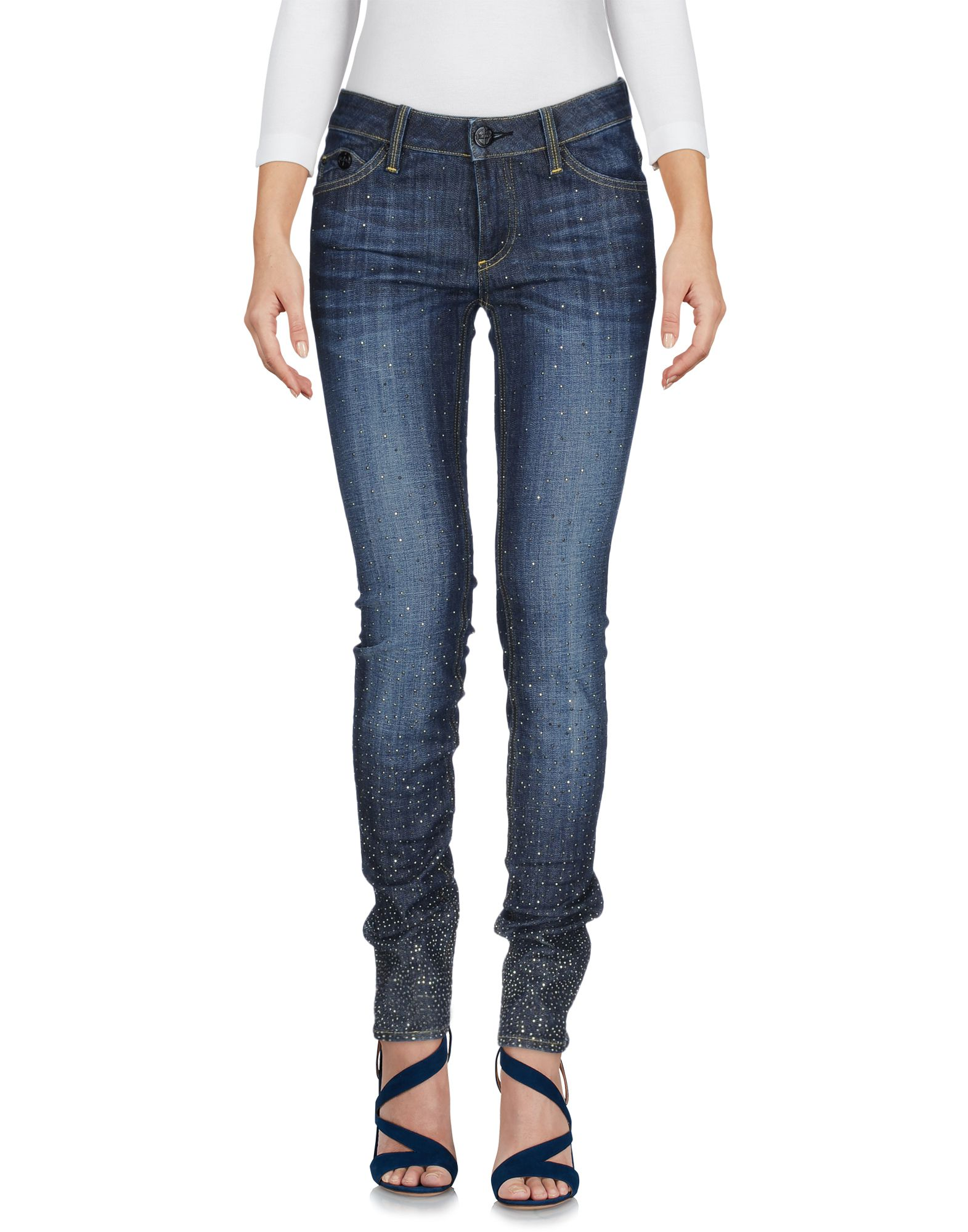 BLACK LEROCK Джинсовые брюки цена 2017