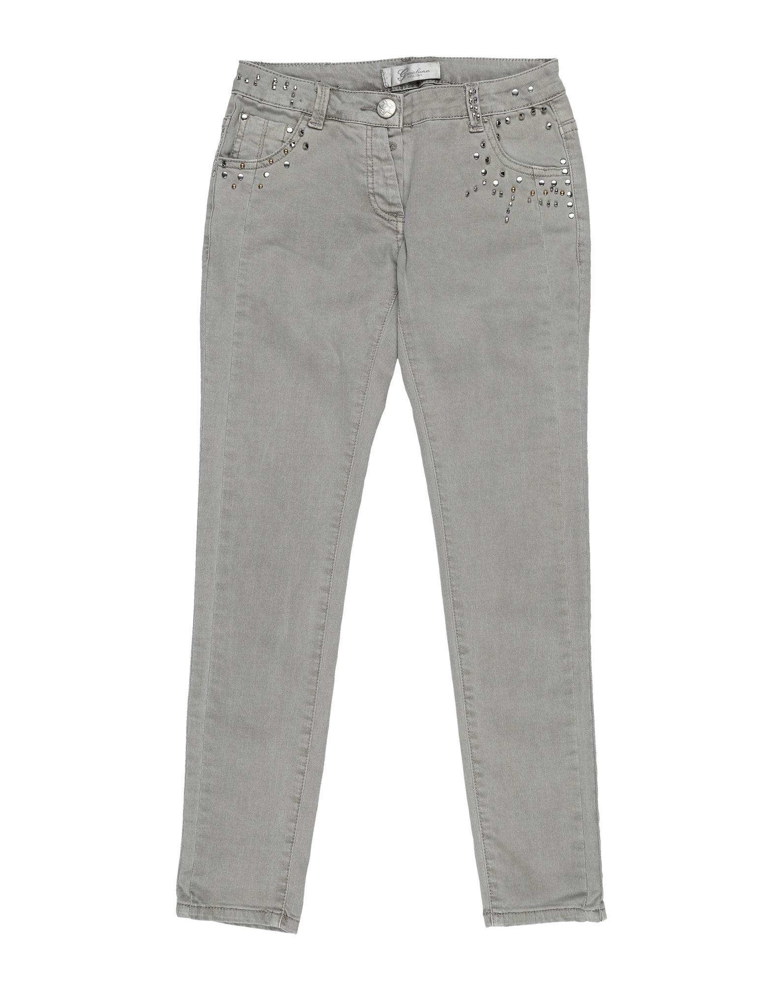 GAIALUNA Джинсовые брюки юбка для девочки ge520408 разноцветный gaialuna