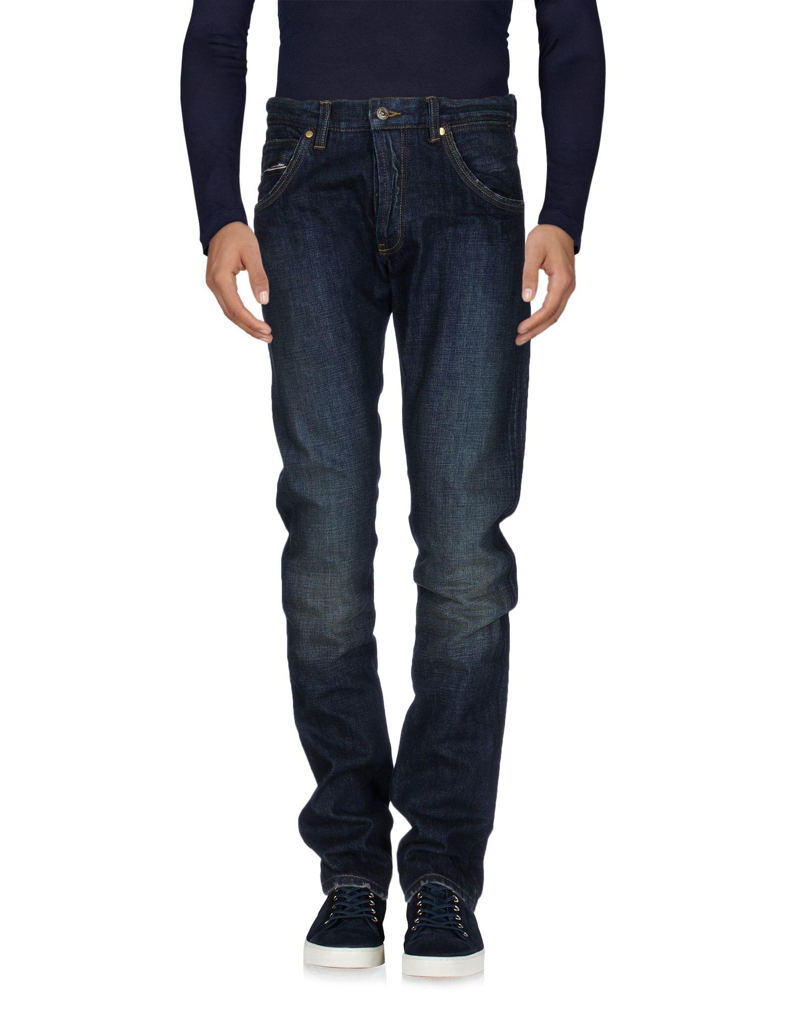 THD Джинсовые брюки