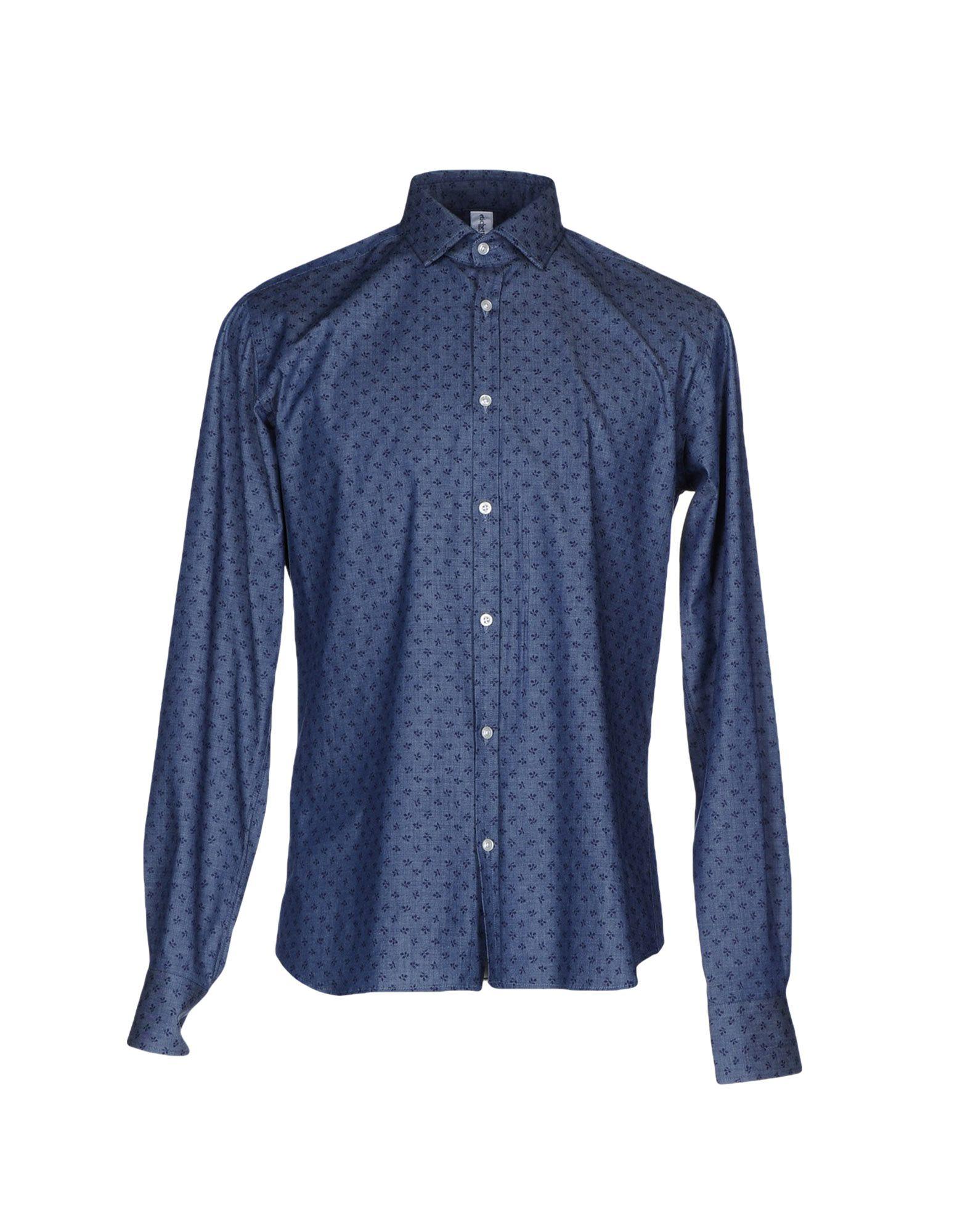 цена ETICHETTA 35 Джинсовая рубашка онлайн в 2017 году