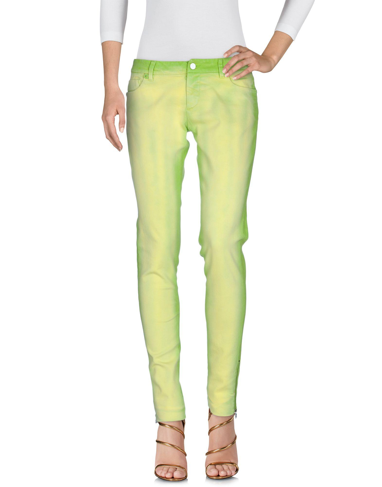 PRADA SPORT Damen Jeanshose Farbe Hellgrün Größe 2