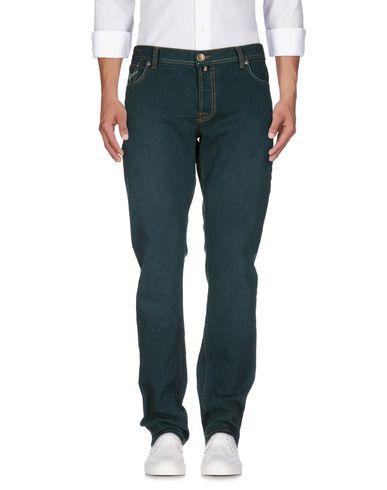 Джинсовые брюки PT05. Цвет: темно-зеленый
