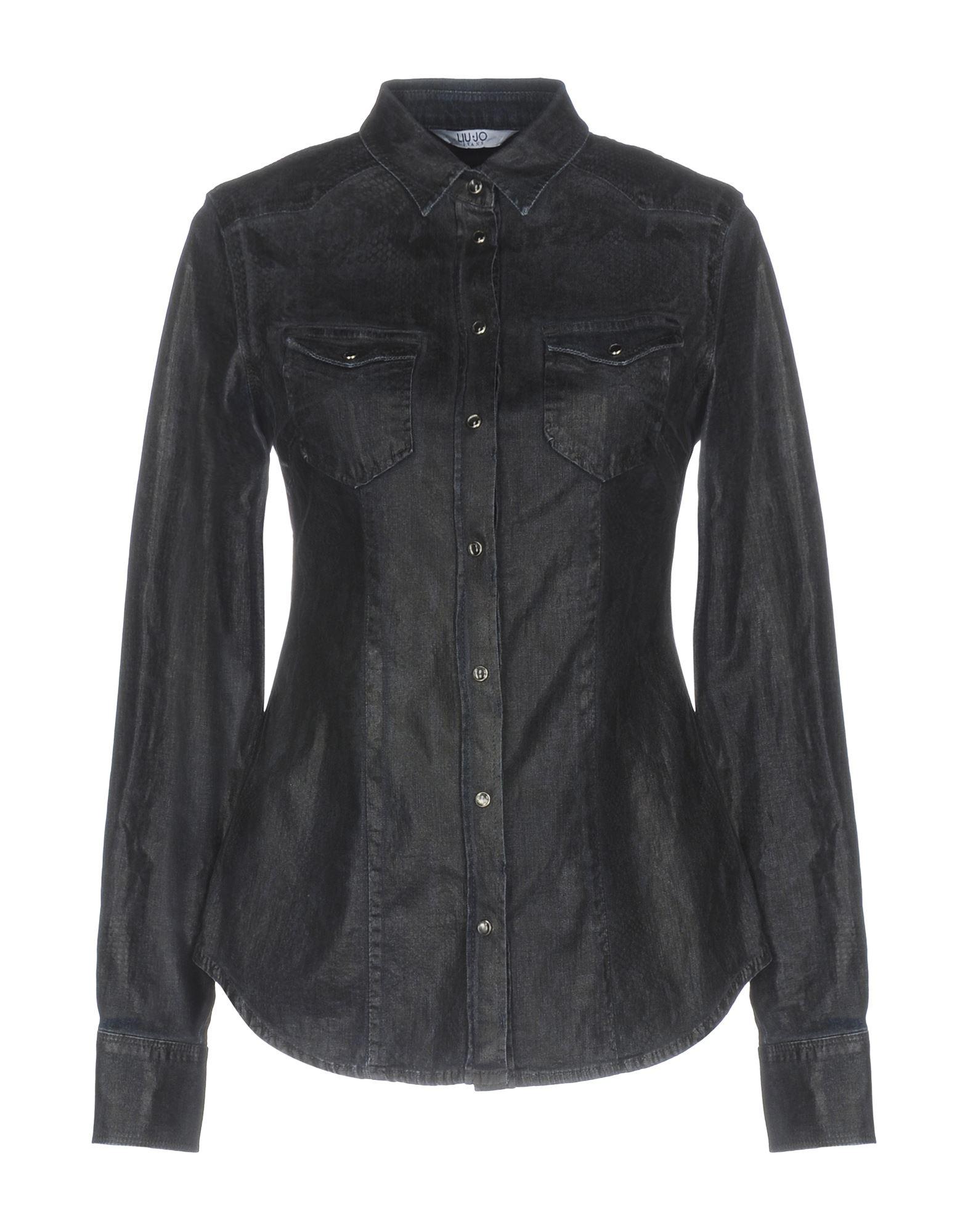 LIU •JO JEANS Джинсовая рубашка