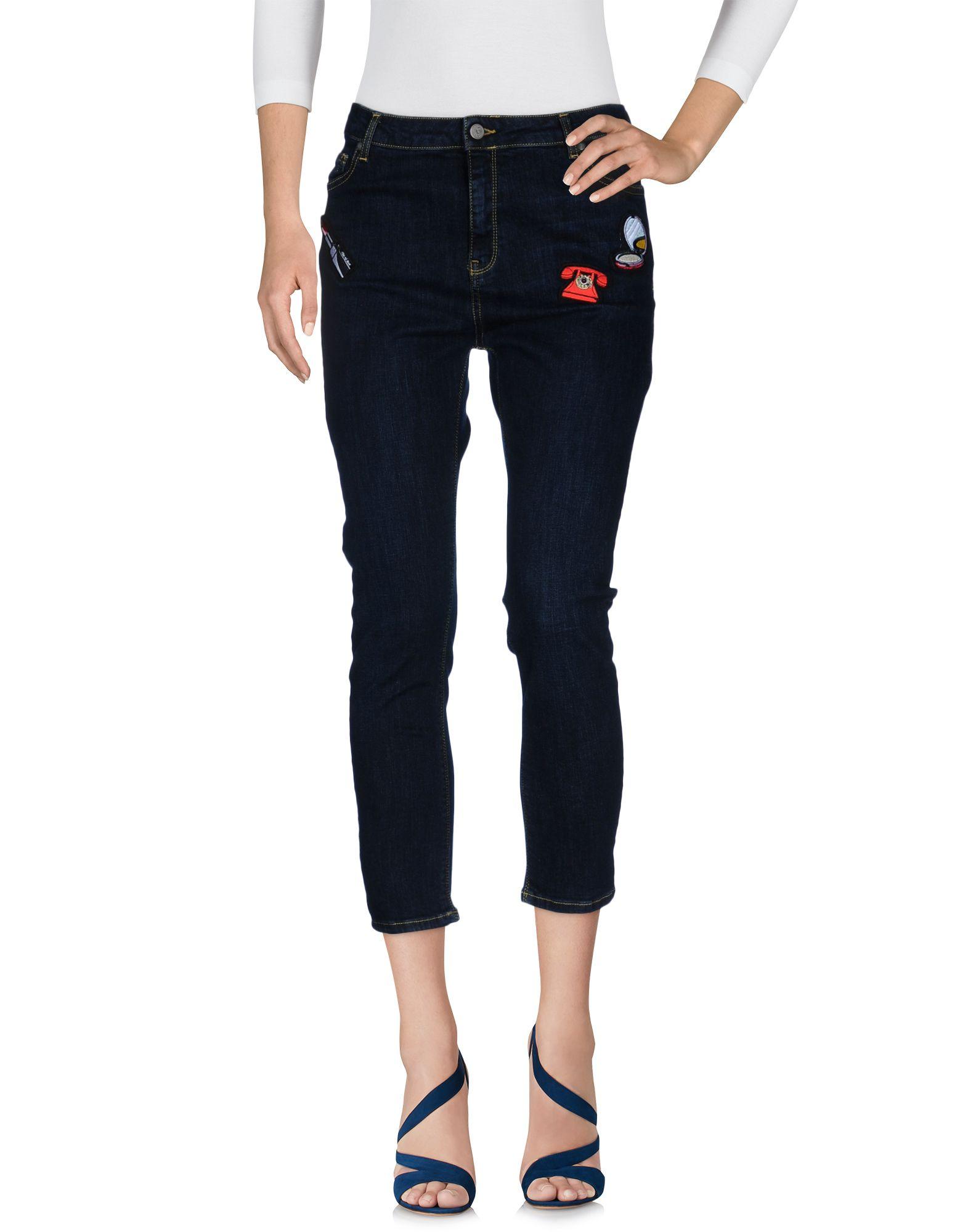 цена на 10X10 ANITALIANTHEORY Джинсовые брюки