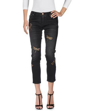 DON´T CRY Damen Jeanshose Farbe Schwarz Größe 4
