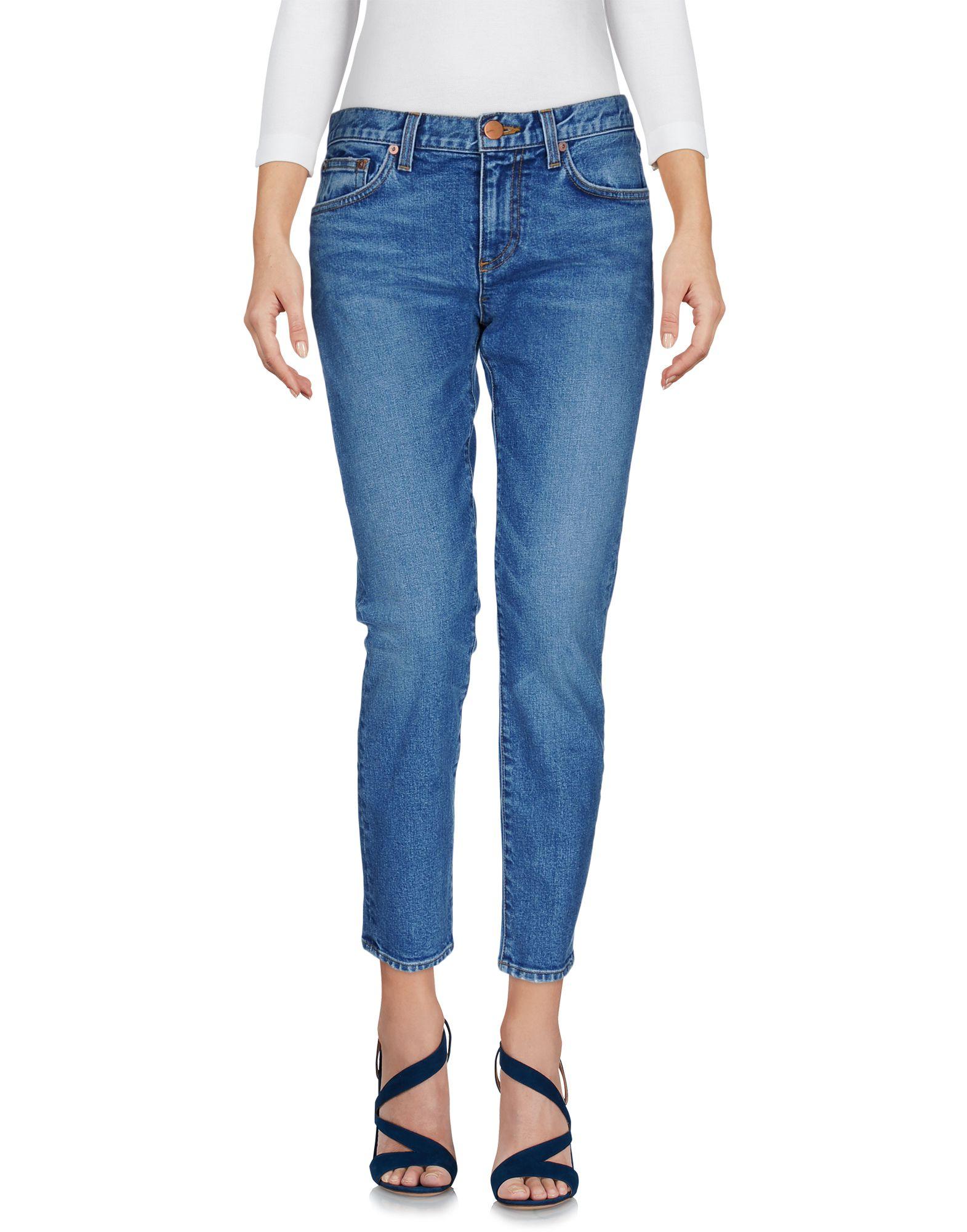 CRIPPEN Denim Pants in Blue
