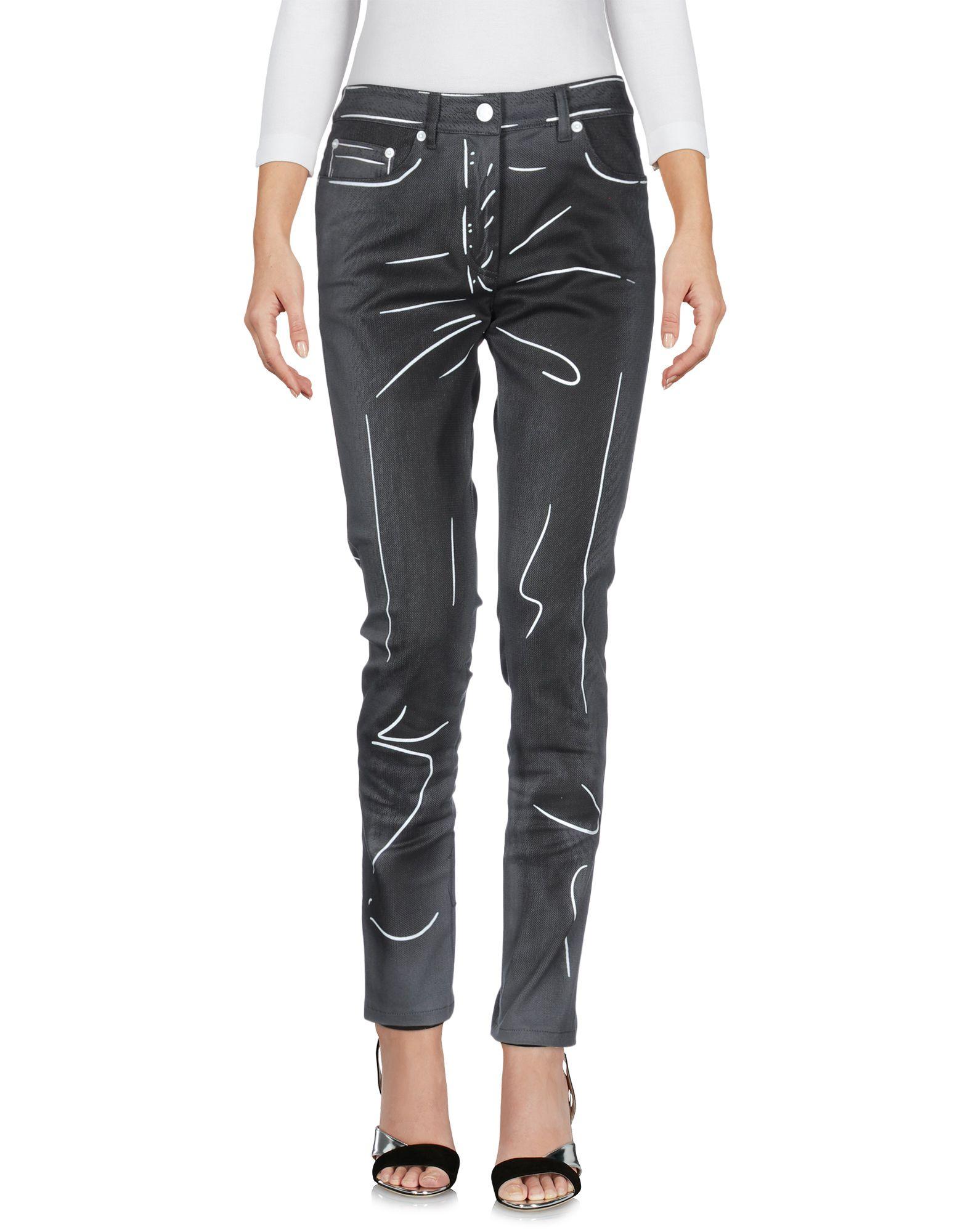 MOSCHINO COUTURE Джинсовые брюки moschino couture сандалии