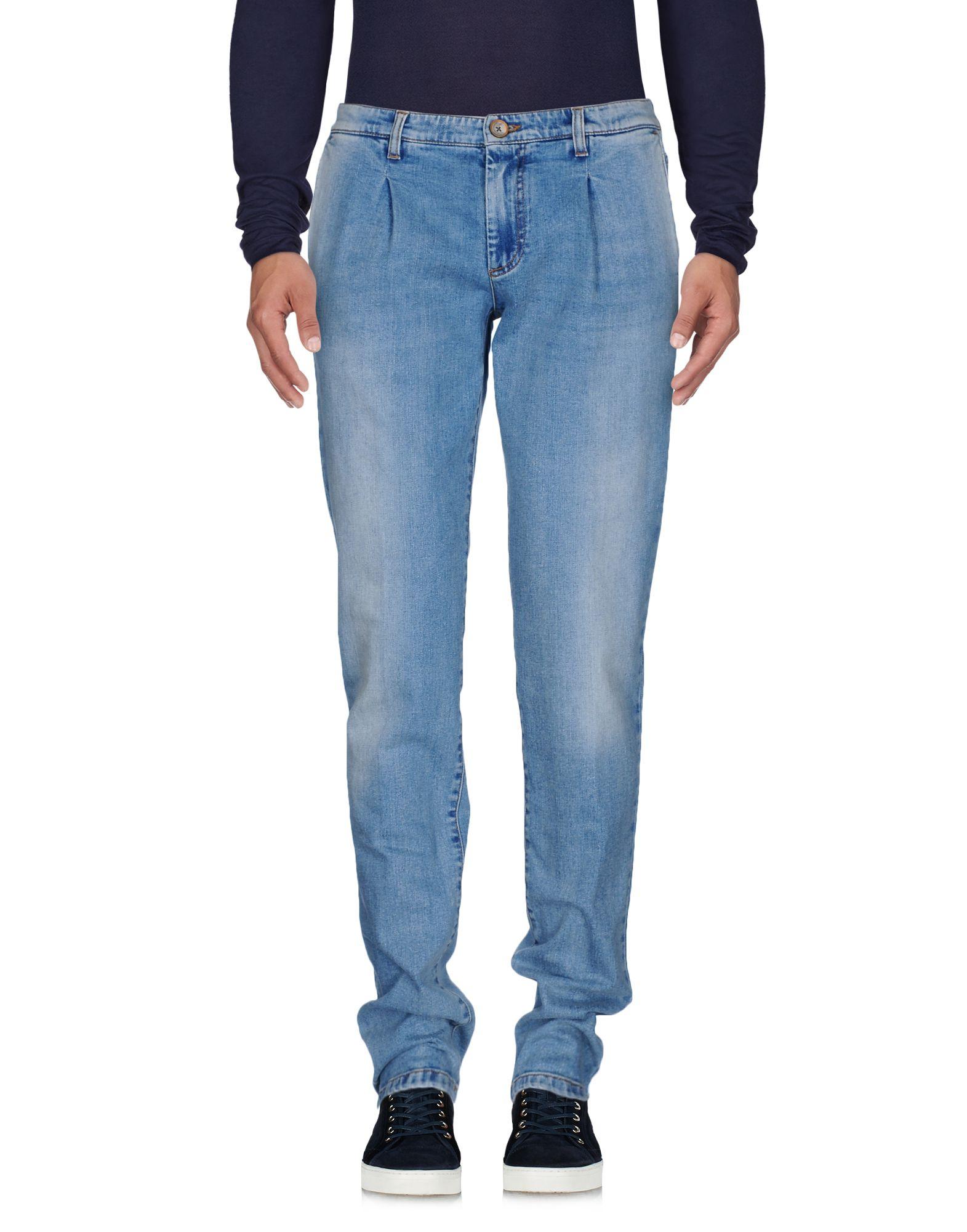 Фото ELEVENTY Джинсовые брюки. Купить с доставкой