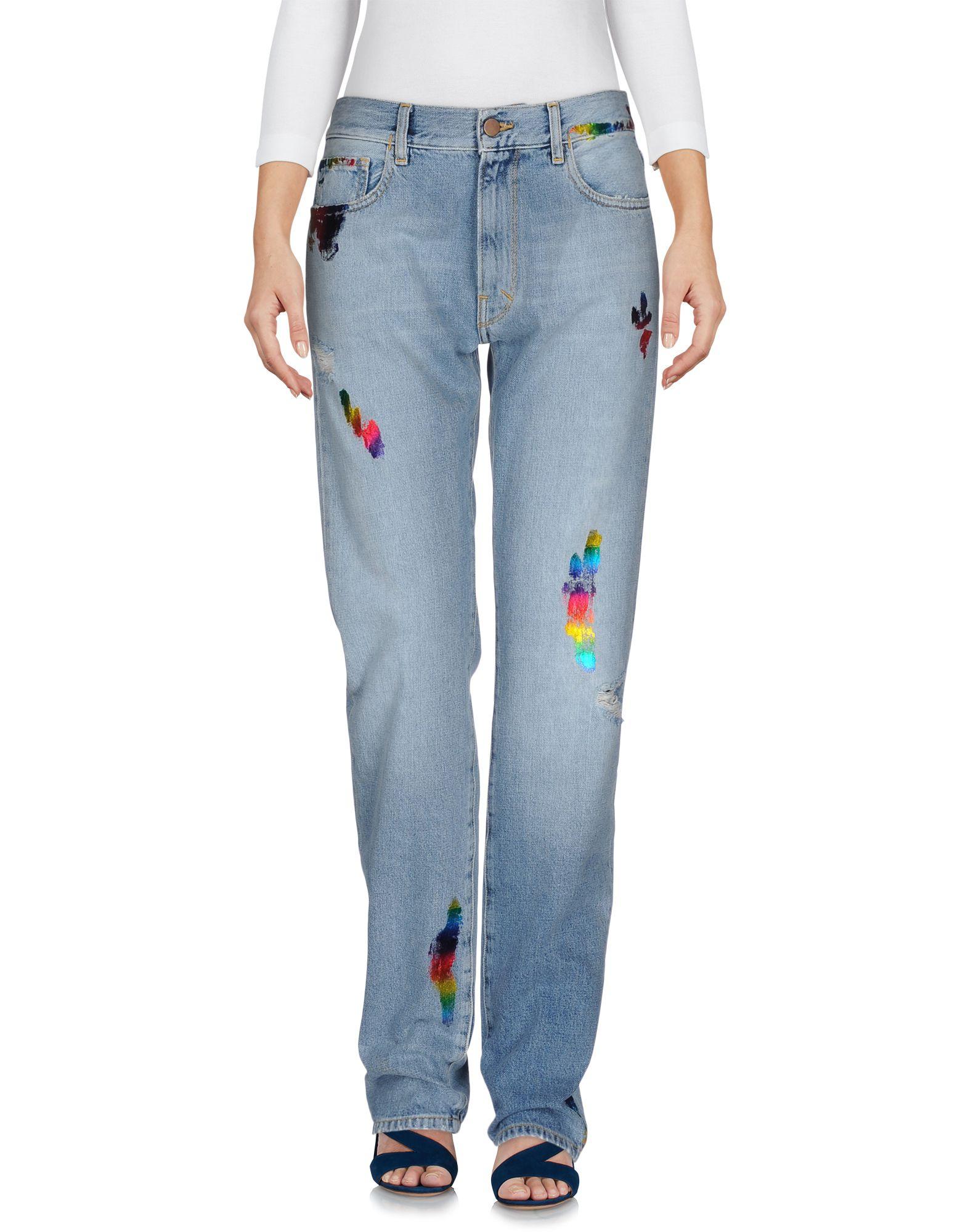 цены на ARIES Джинсовые брюки в интернет-магазинах