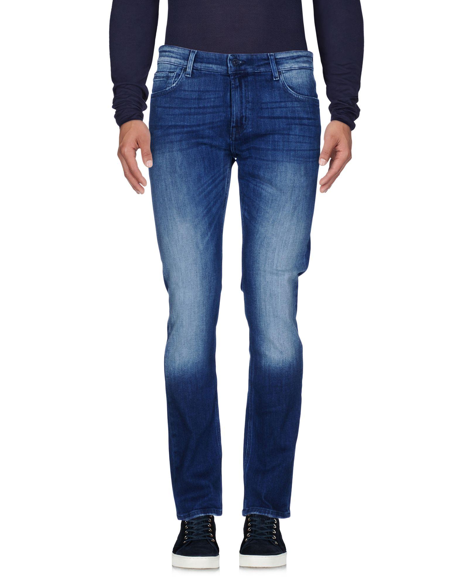 где купить  7 FOR ALL MANKIND Джинсовые брюки  по лучшей цене