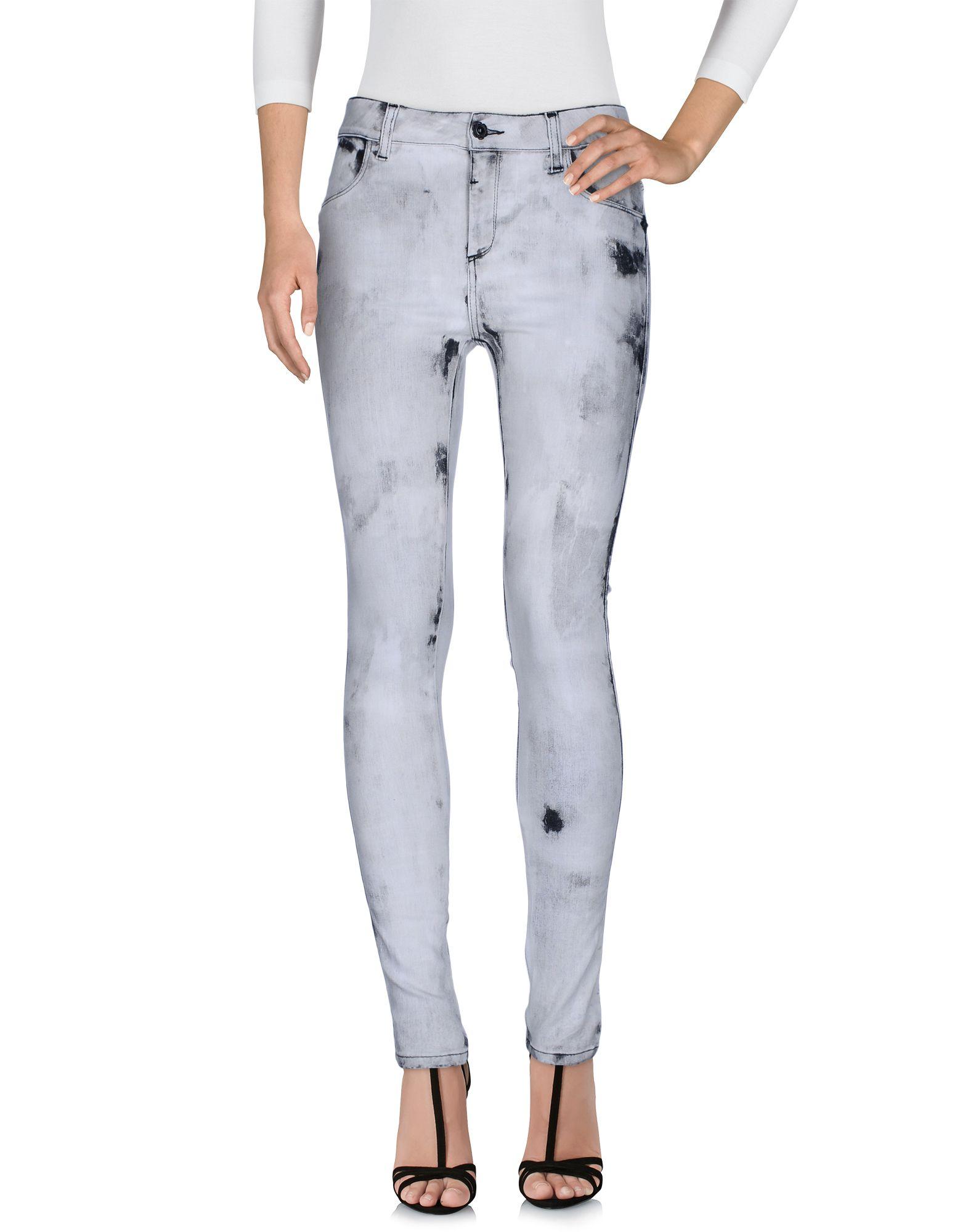 AB/SOUL Damen Jeanshose Farbe Hellgrau Größe 8