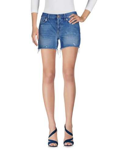 Imagen principal de producto de 7 FOR ALL MANKIND - MODA VAQUERA - Shorts vaqueros - 7 for all mankind