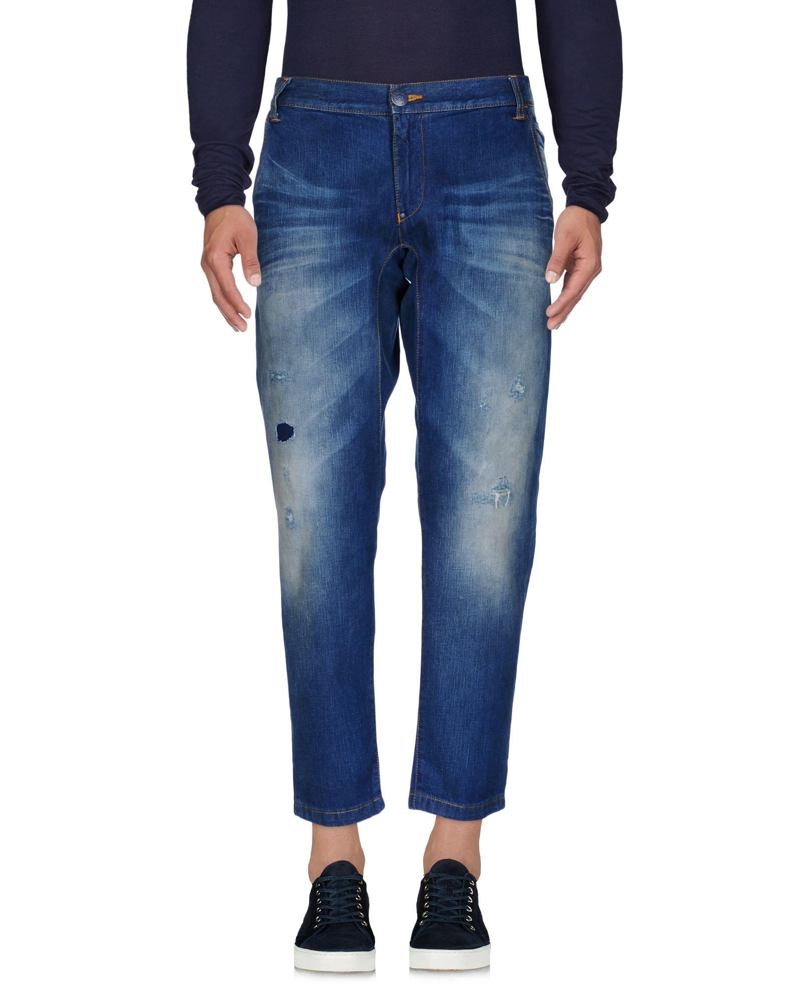 《セール開催中》ARMANI JEANS メンズ ジーンズ ブルー 34 コットン 100%