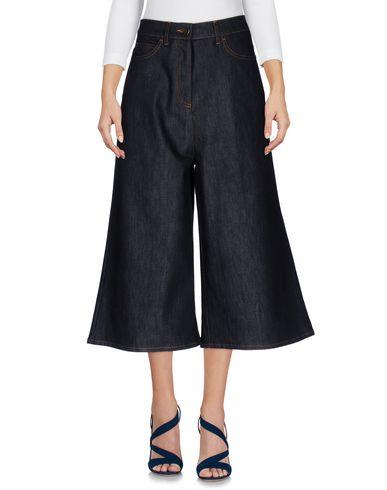 Джинсовые брюки-капри VALENTINO 42601676RA