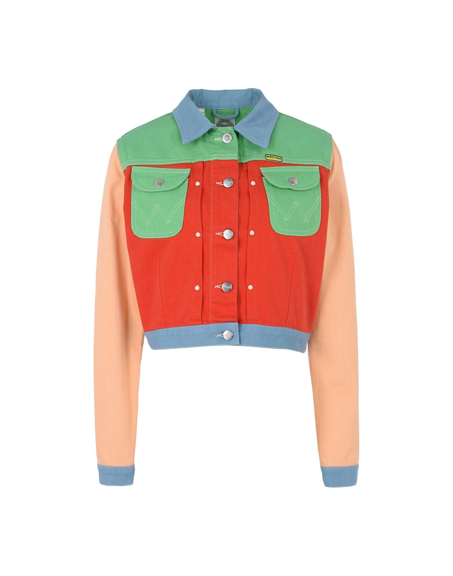 wrangler джинсовая верхняя одежда WRANGLER by PETER MAX Джинсовая верхняя одежда
