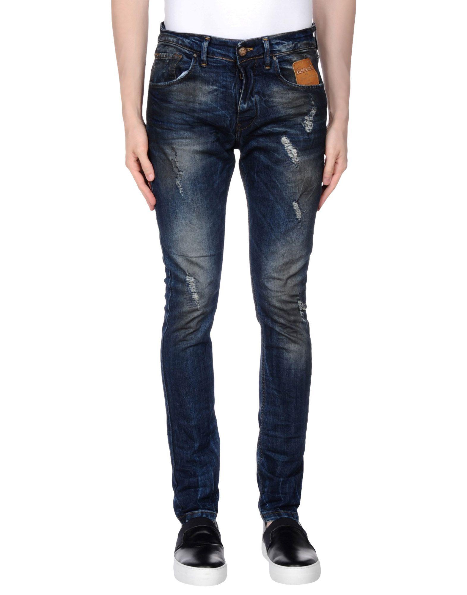 DISPLAJ Джинсовые брюки dismero джинсовые брюки