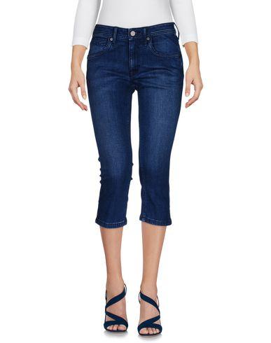 Джинсовые брюки-капри BURBERRY 42602753NG
