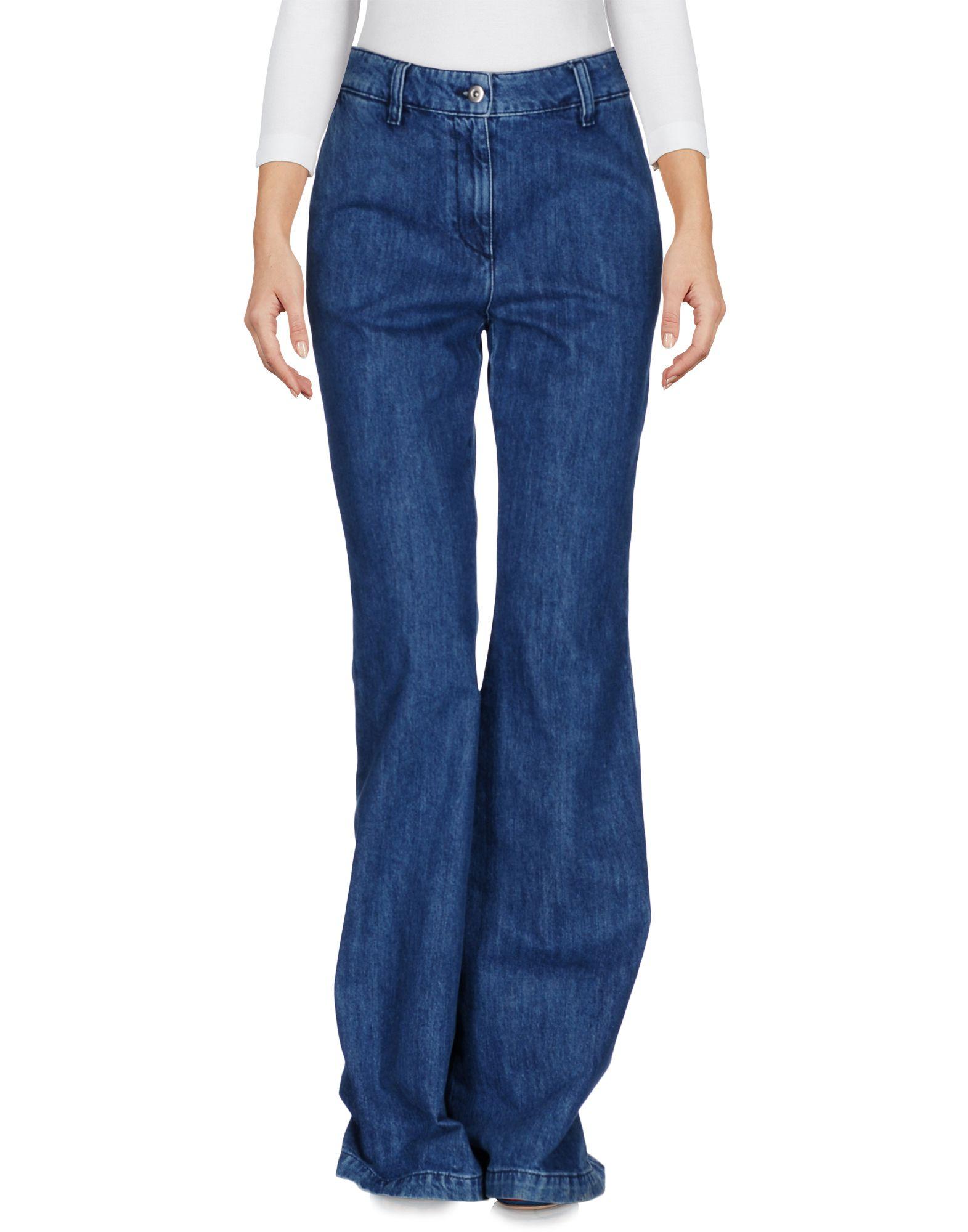 брюки au jour le jour брюки укороченные AU JOUR LE JOUR Джинсовые брюки