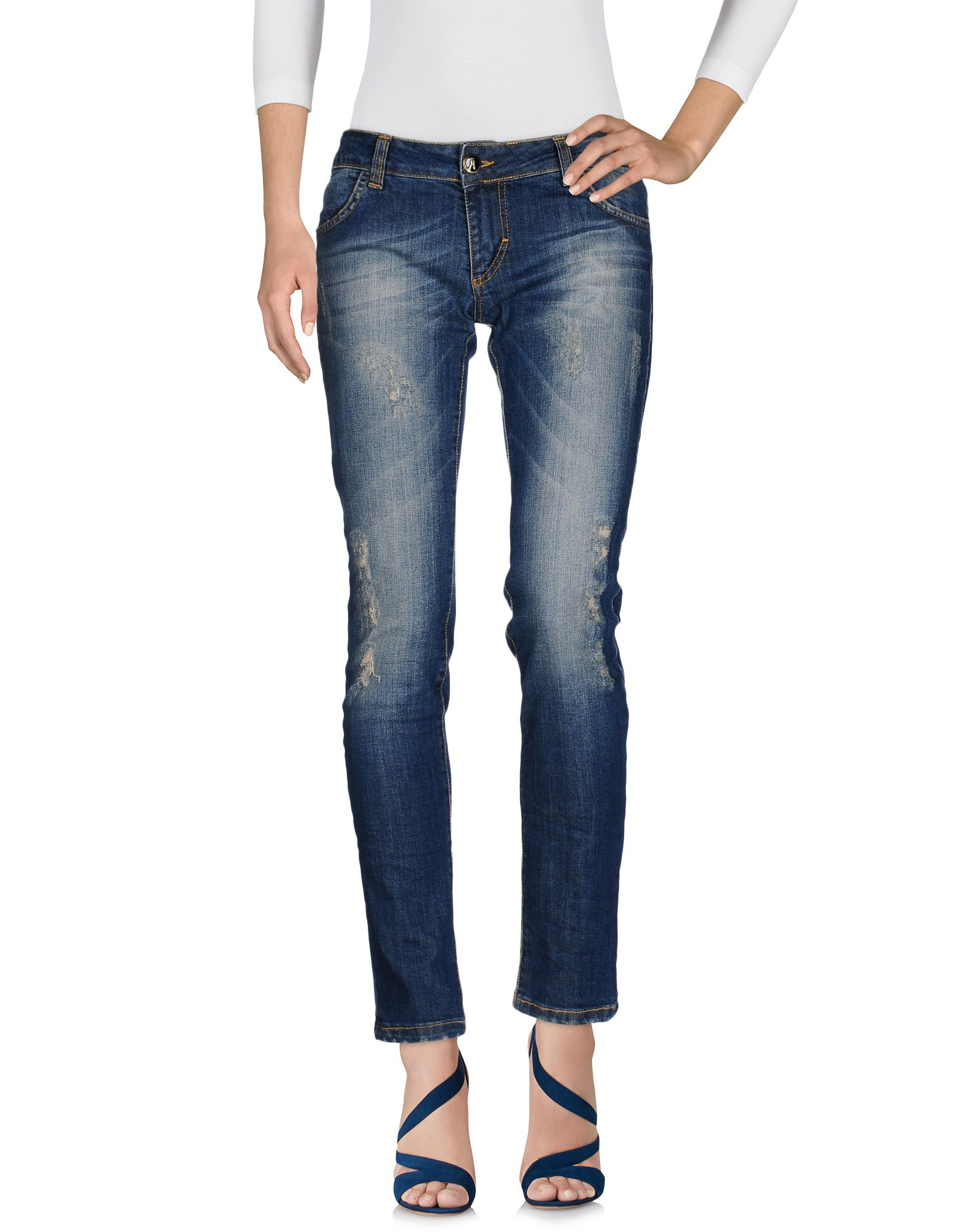 ANIYE BY Damen Jeanshose Farbe Blau Größe 7