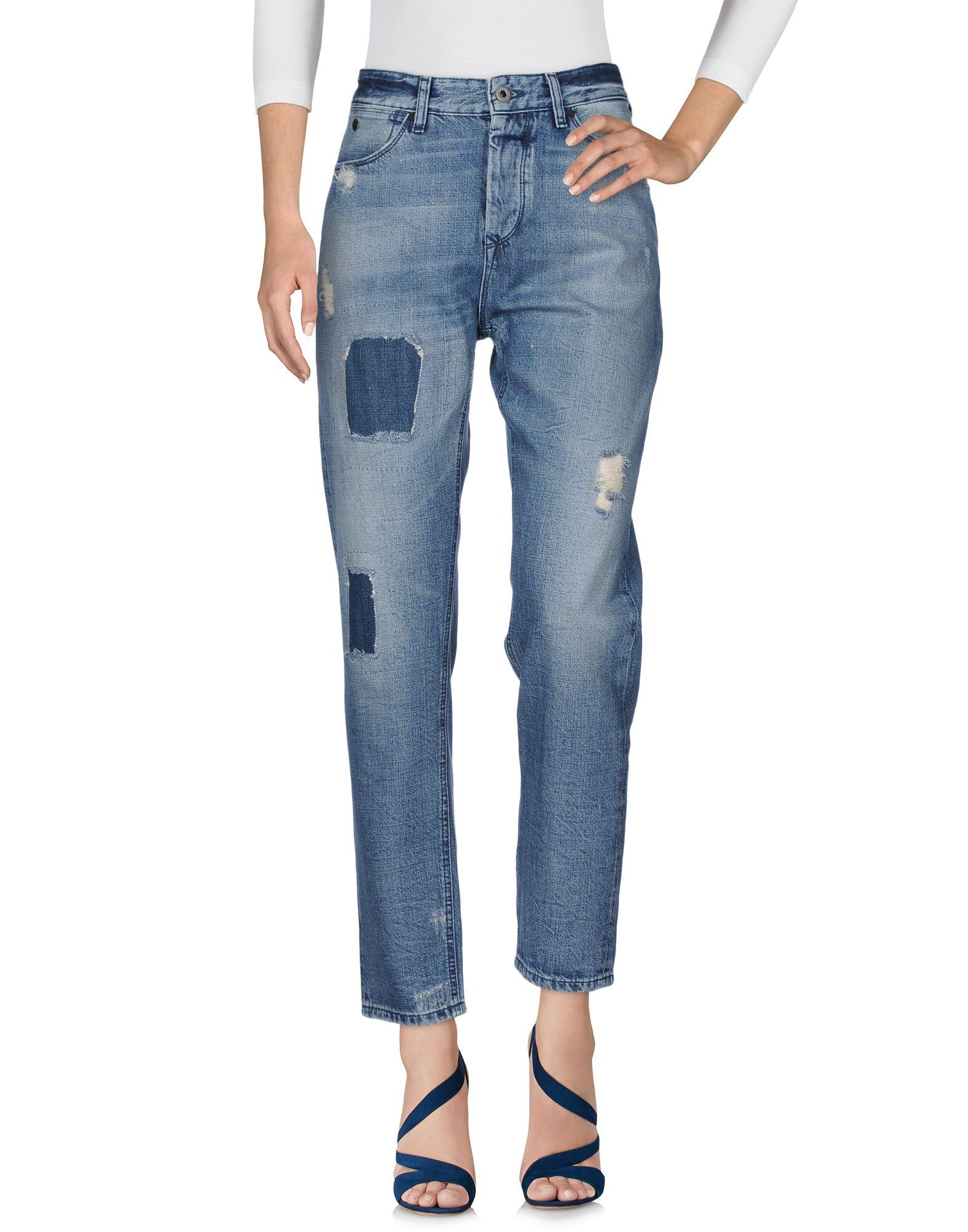 Фото MAISON SCOTCH Джинсовые брюки. Купить с доставкой