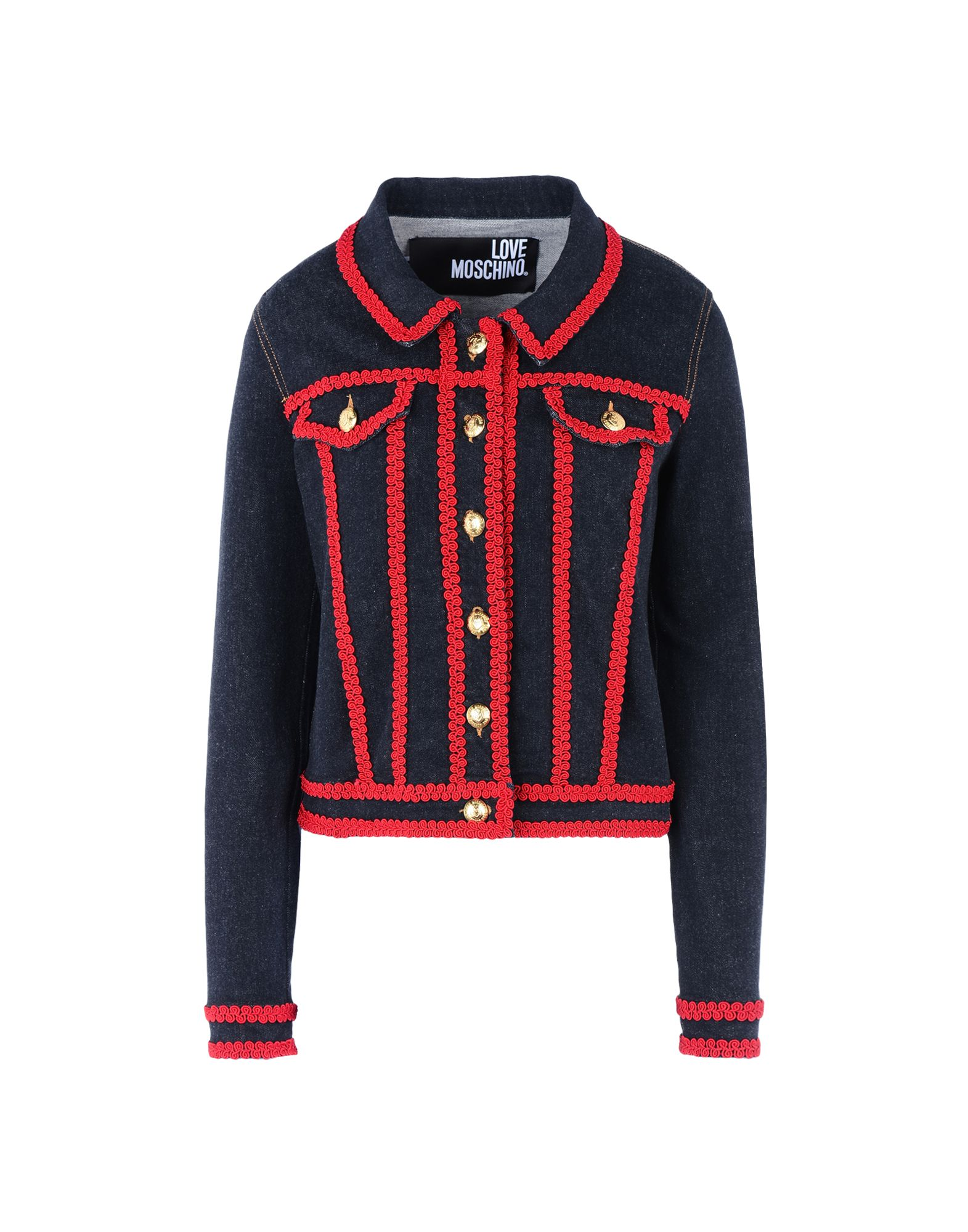 LOVE MOSCHINO Джинсовая верхняя одежда love moschino джинсовая верхняя одежда