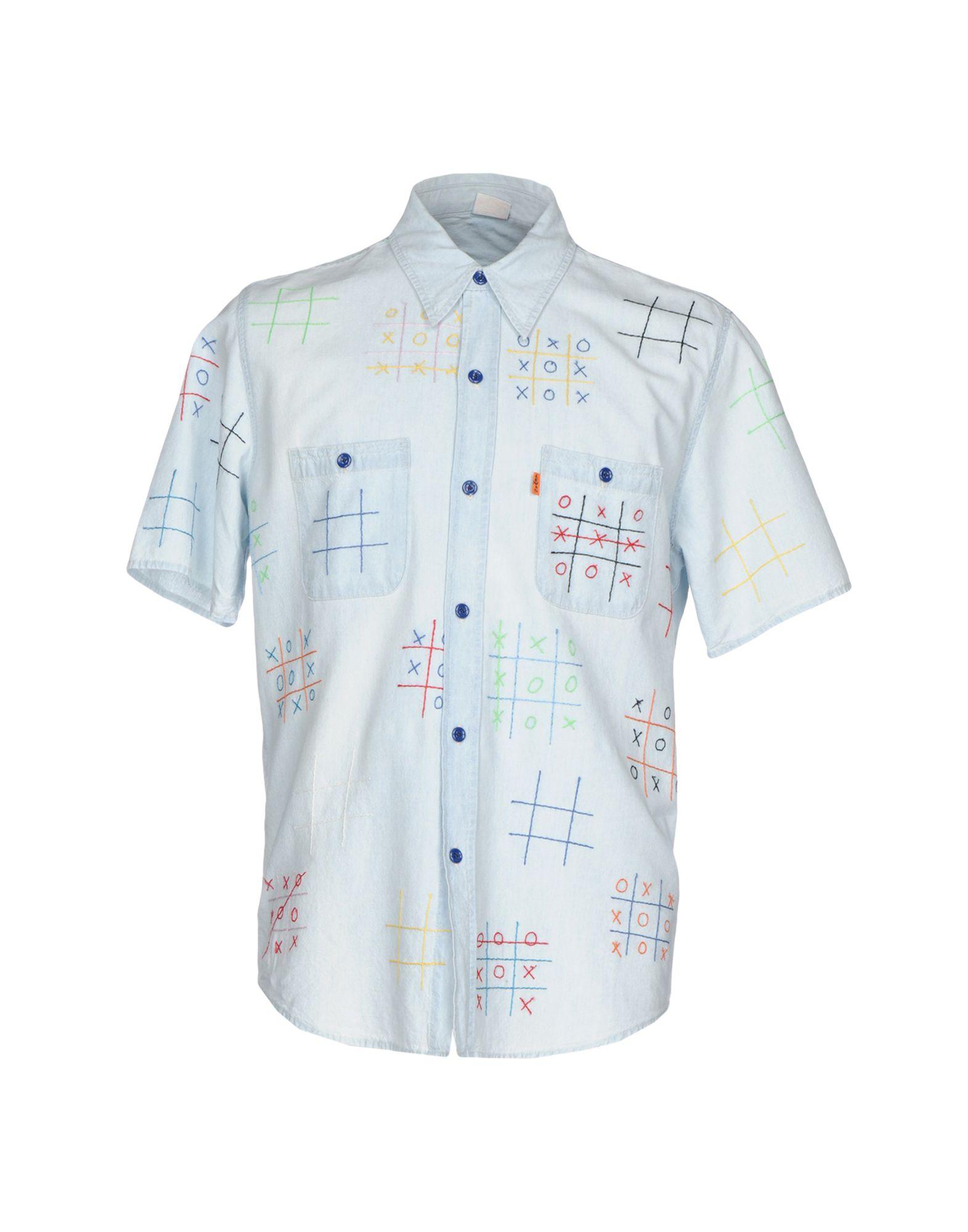 цена на LEVI'S VINTAGE CLOTHING Джинсовая рубашка