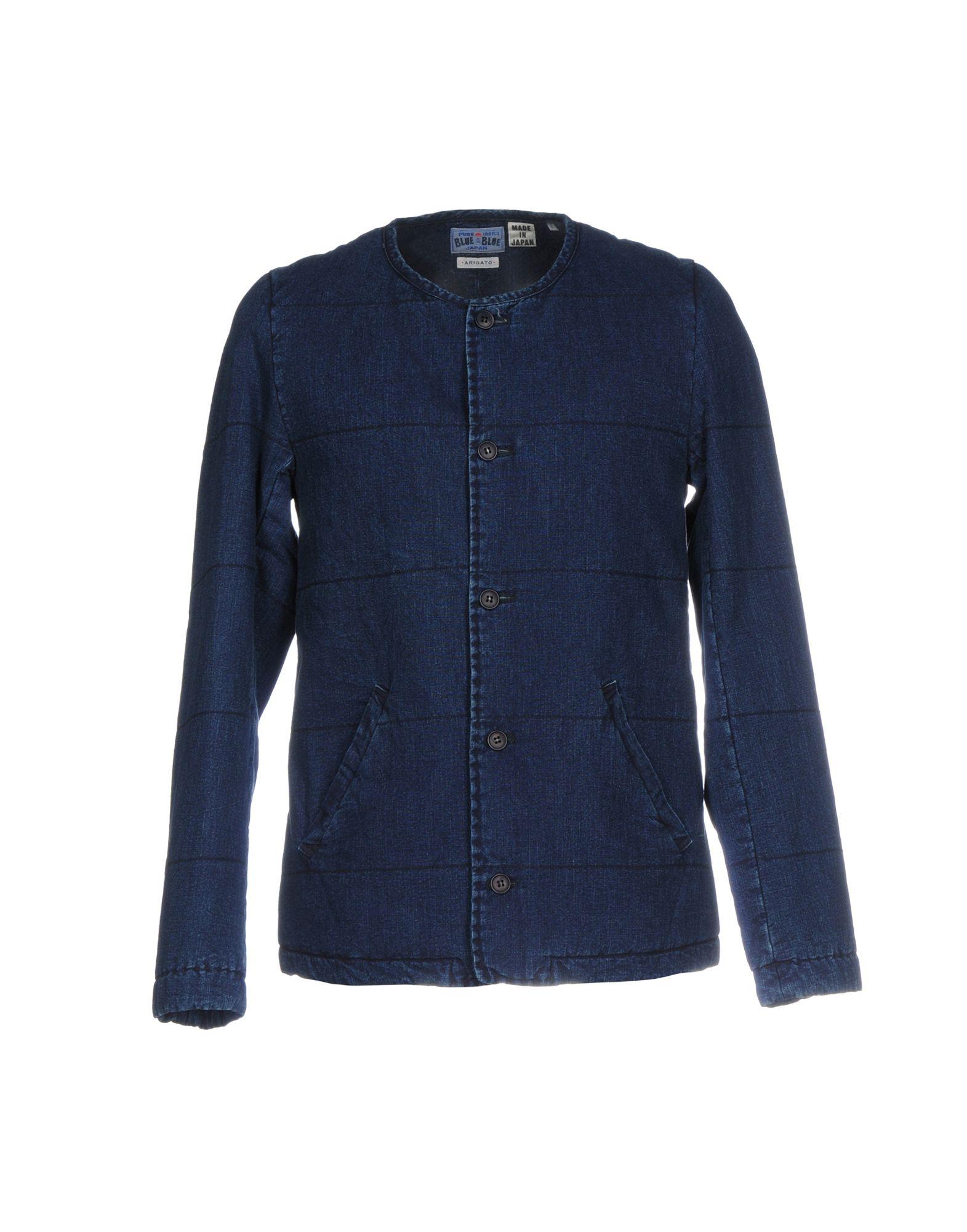 BLUE BLUE  JAPAN Джинсовая верхняя одежда верхняя одежда