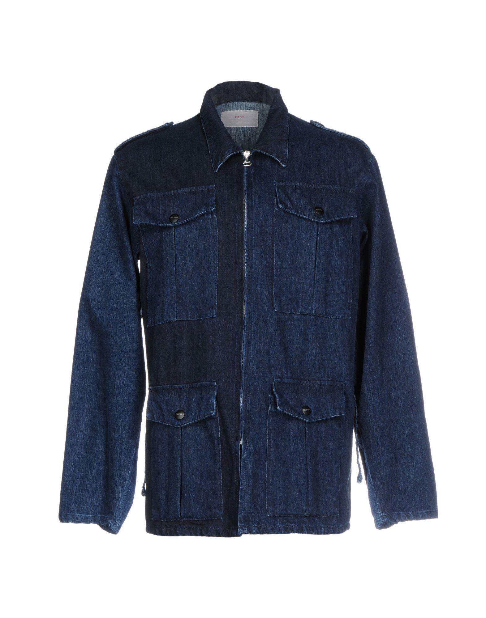 MIRROR Джинсовая верхняя одежда colmar джинсовая верхняя одежда