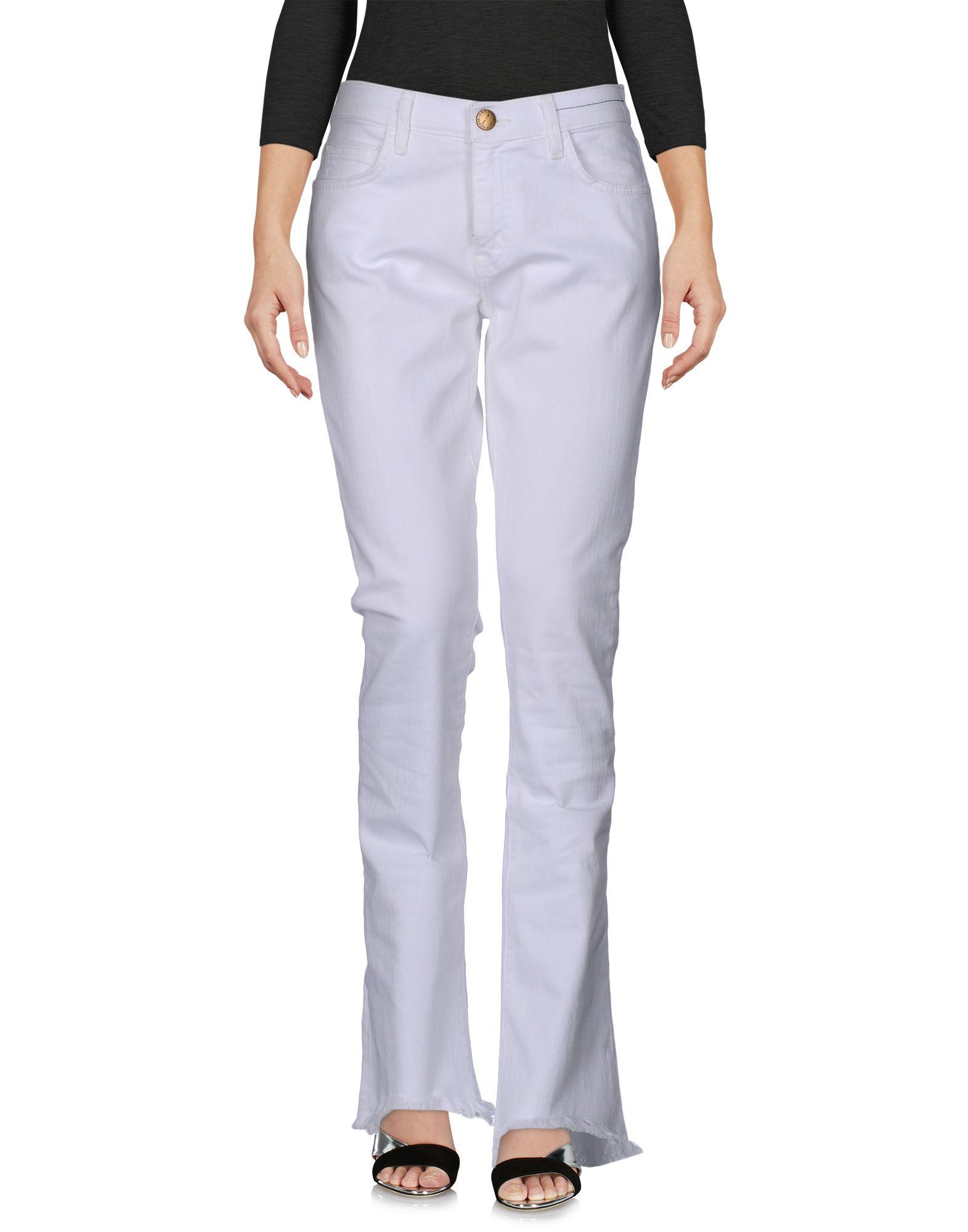 CURRENT/ELLIOTT Damen Jeanshose Farbe Weiß Größe 4