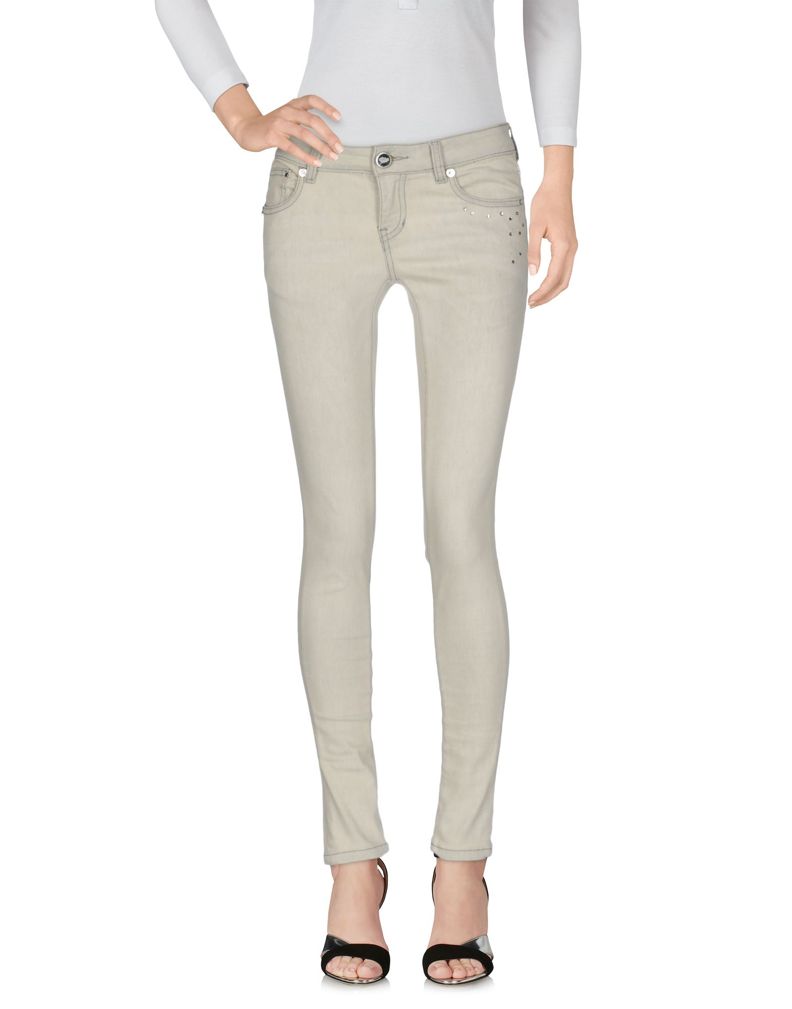 8TH SIN Джинсовые брюки
