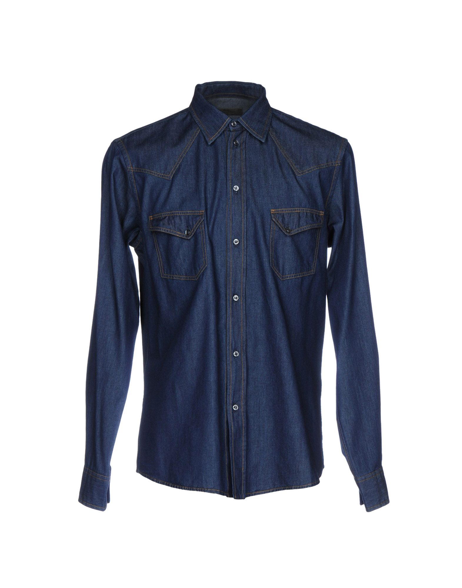 ITALIANS GENTLEMEN Джинсовая рубашка italians gentlemen повседневные брюки