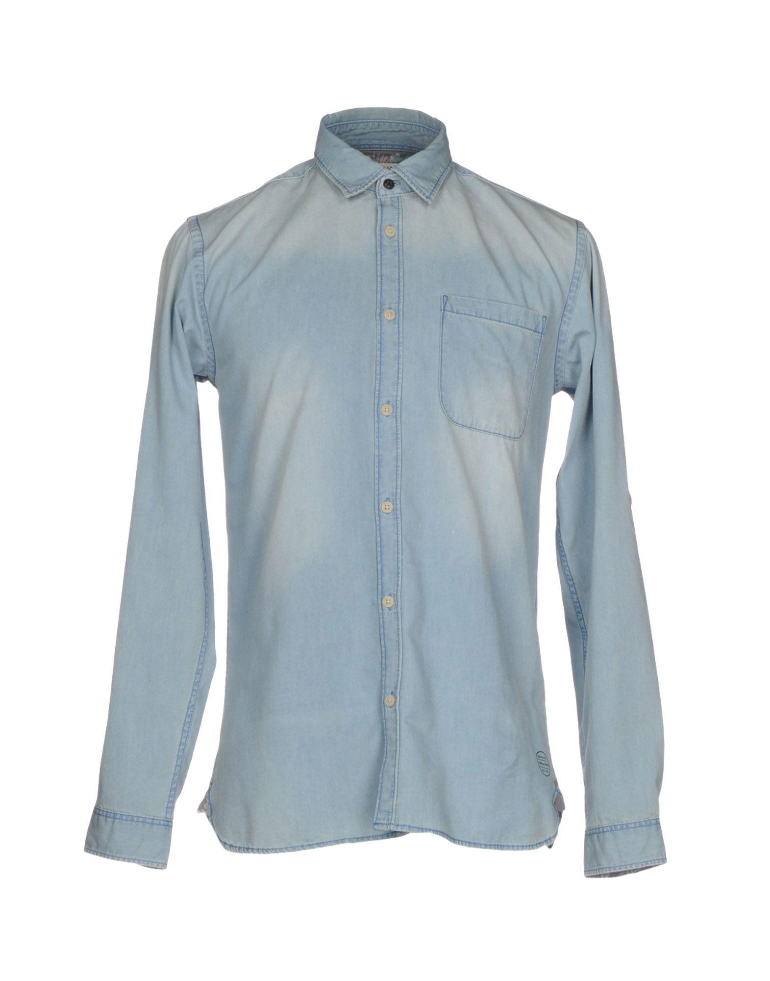 ORIGINALS by JACK & JONES Джинсовая рубашка рубашка джинсовая jack