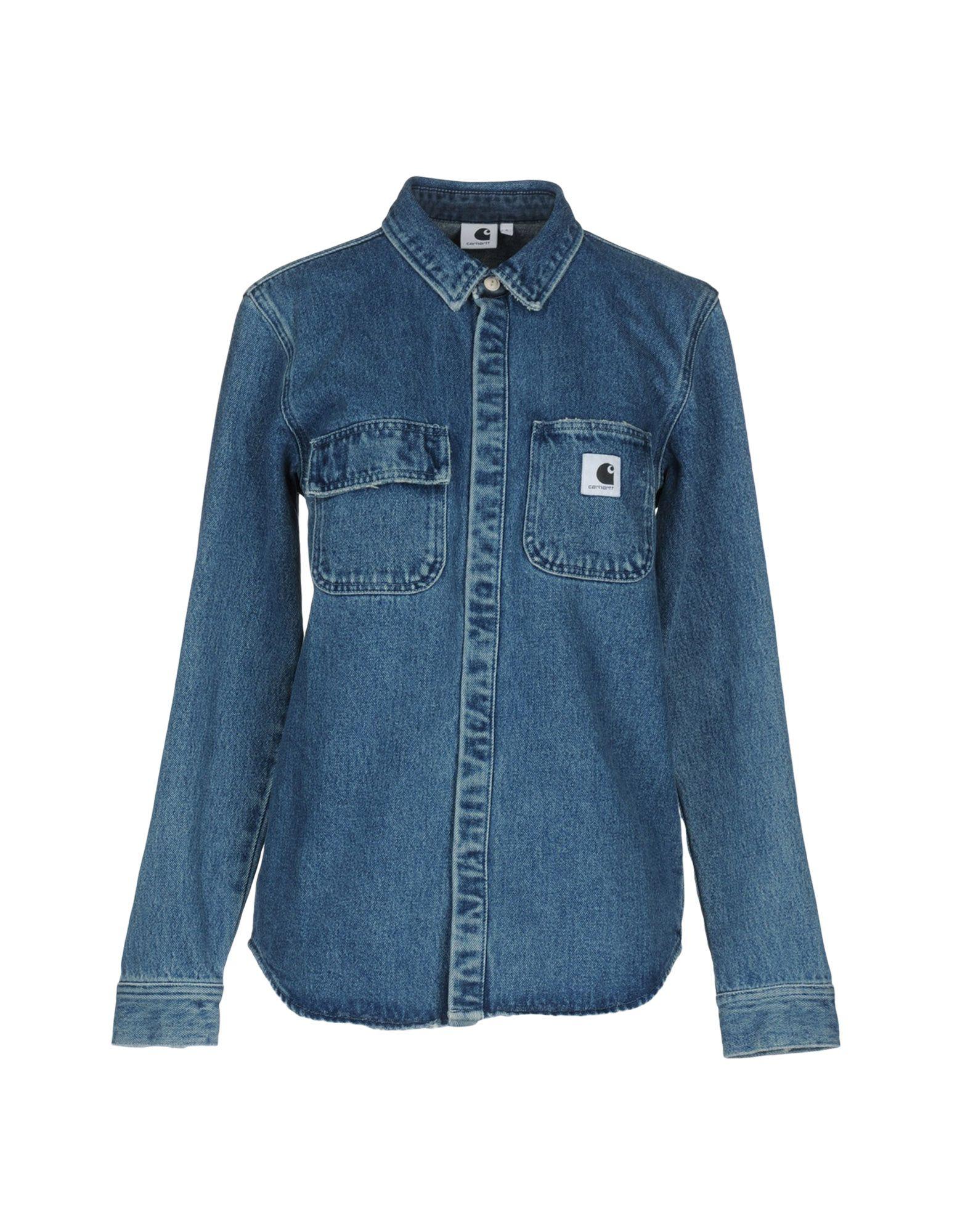 все цены на CARHARTT Джинсовая рубашка онлайн