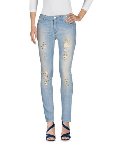 MANILA GRACE Pantalon en jean femme