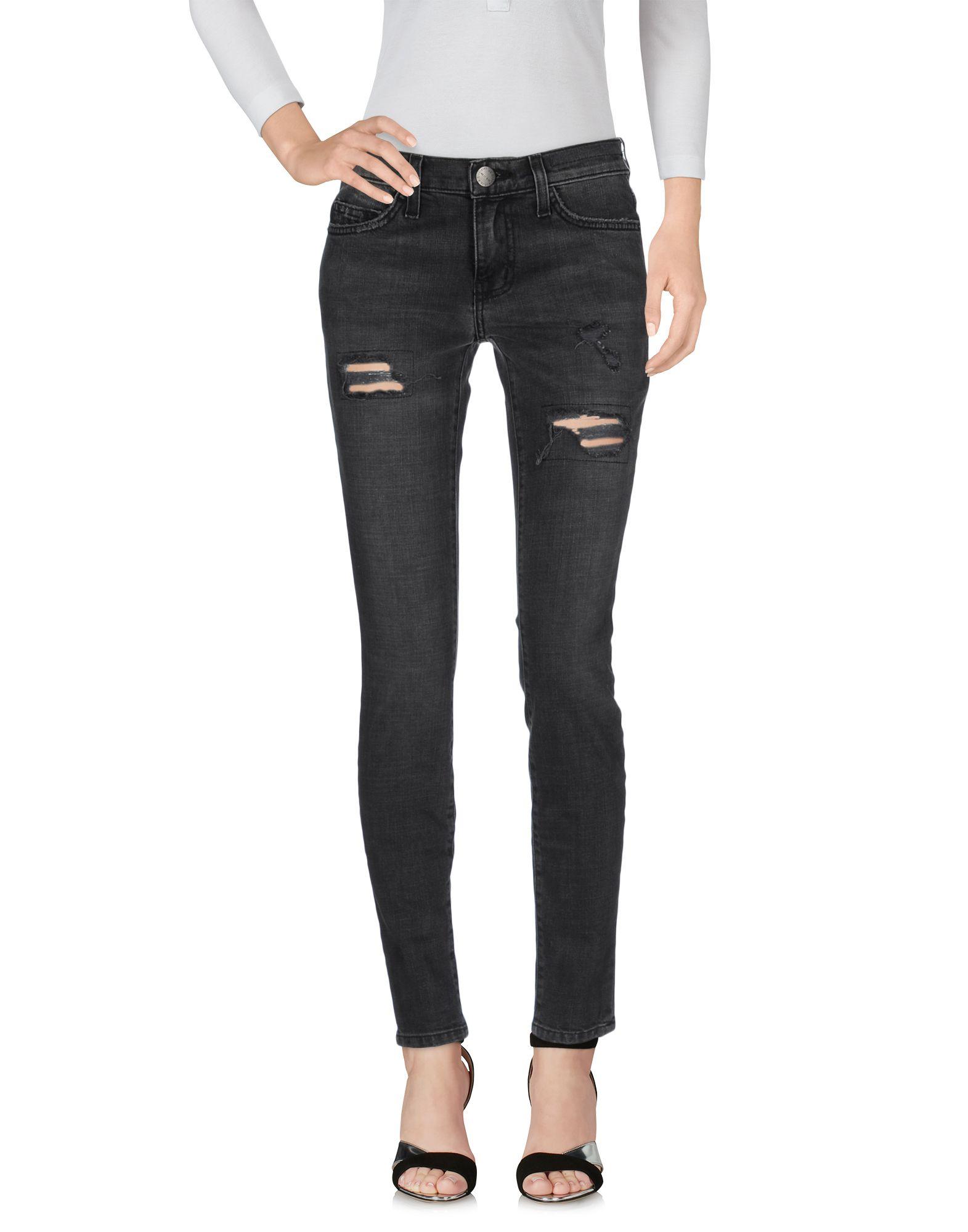 CURRENT/ELLIOTT Джинсовые брюки цена 2017