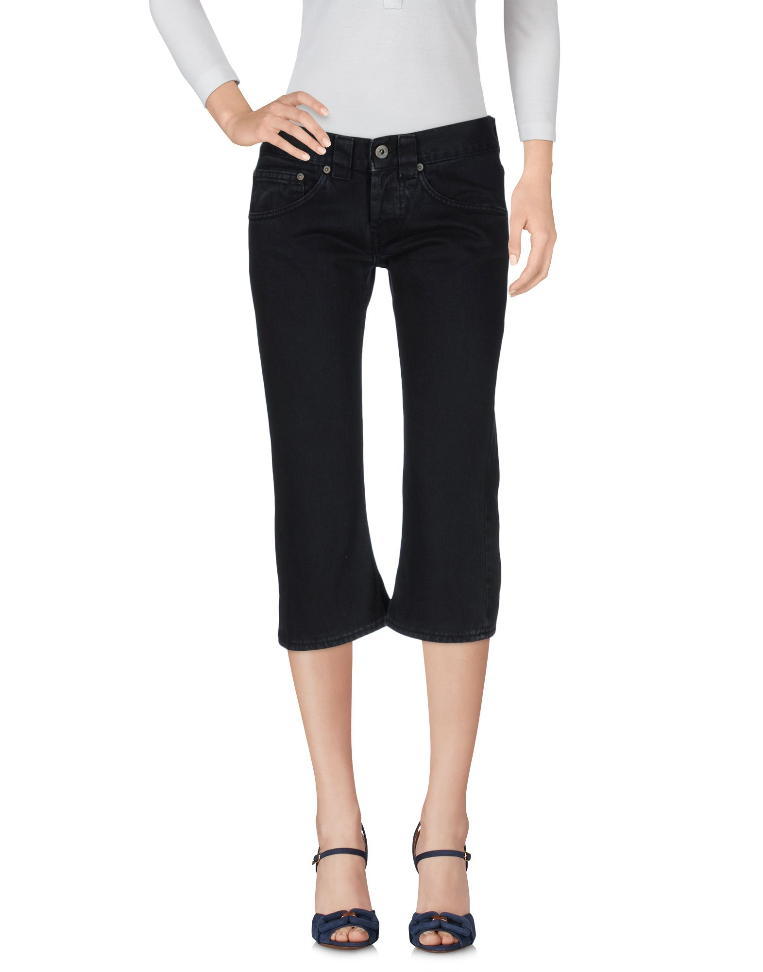 DONDUP STANDART Джинсовые брюки-капри start up джинсовые брюки капри
