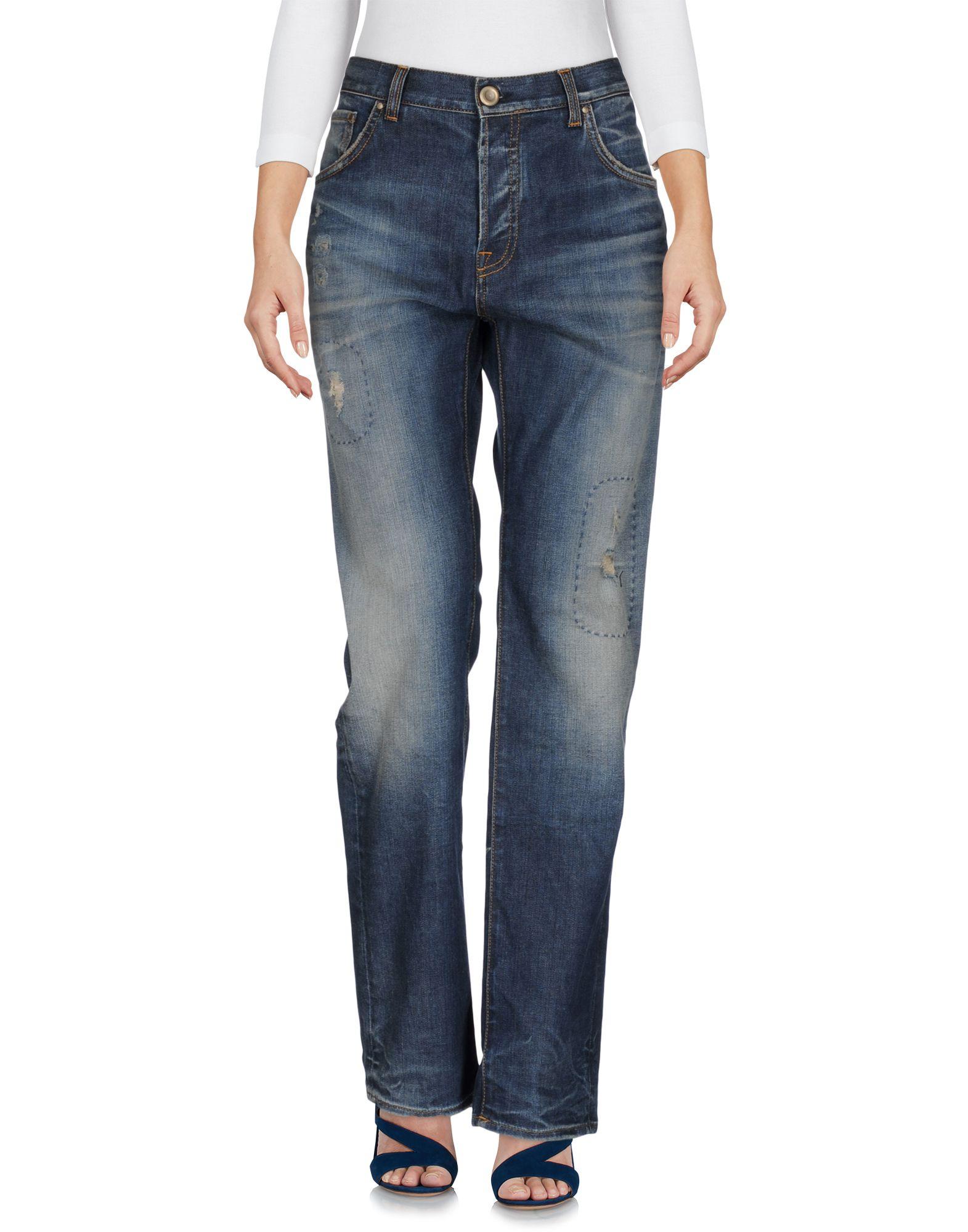 Фото AGLINI Джинсовые брюки. Купить с доставкой