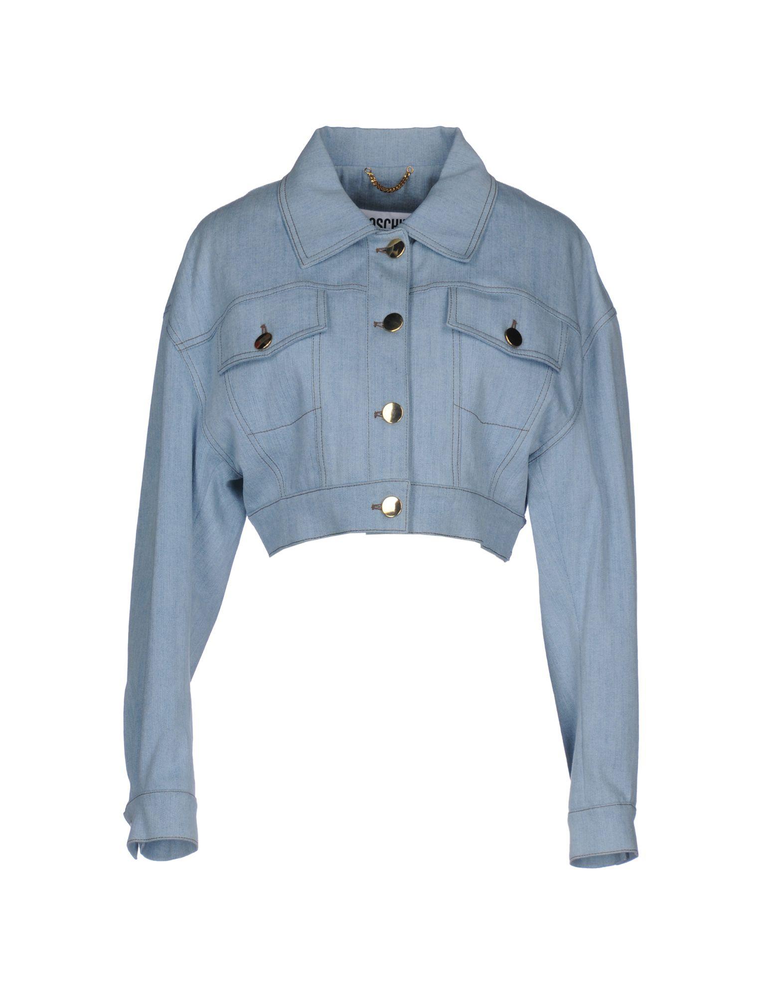 moschino джинсовая верхняя одежда MOSCHINO COUTURE Джинсовая верхняя одежда