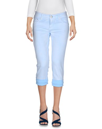 Джинсовые брюки-капри ERMANNO DI ERMANNO SCERVINO 42606986CR