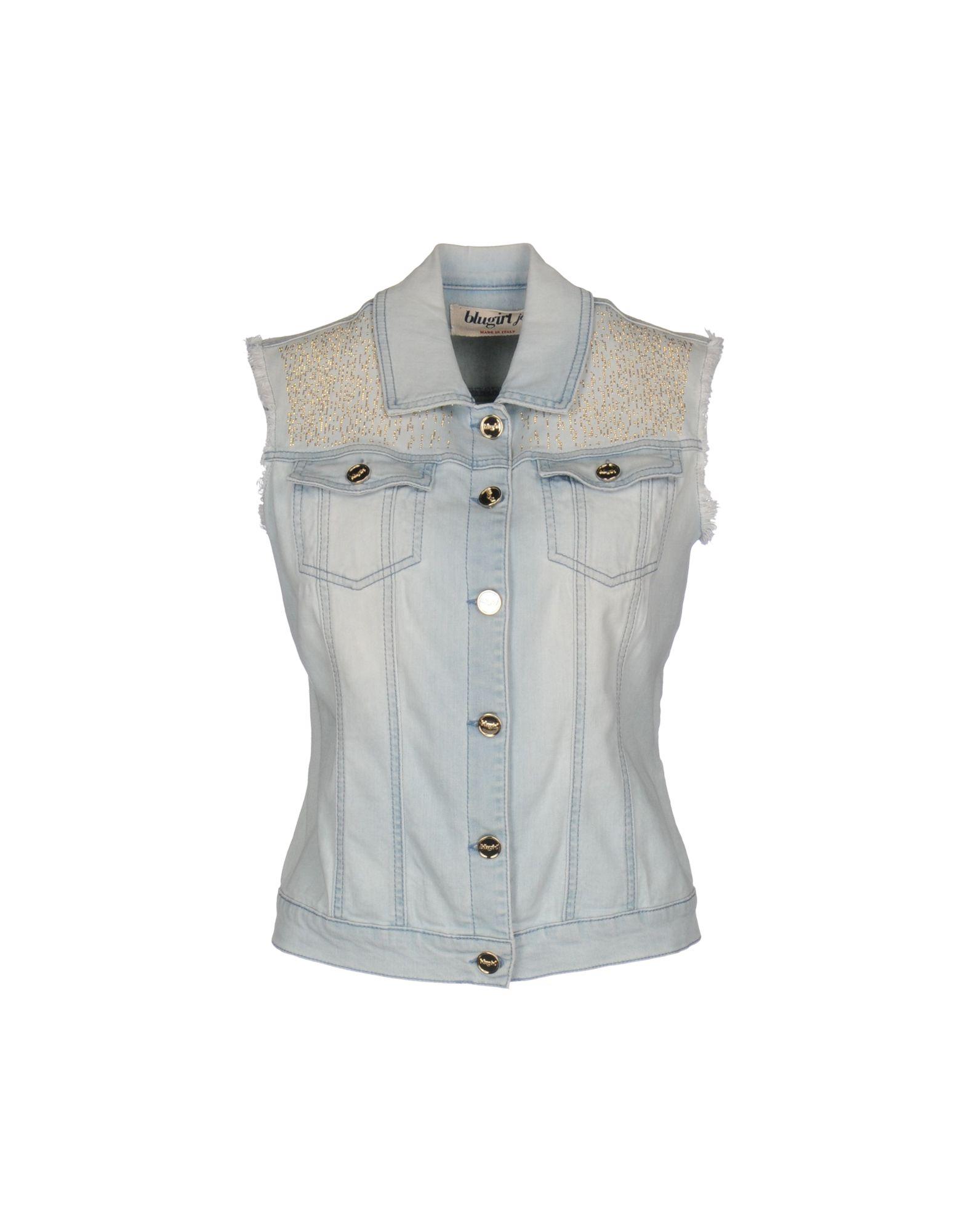 BLUGIRL JEANS Джинсовая верхняя одежда цена 2017
