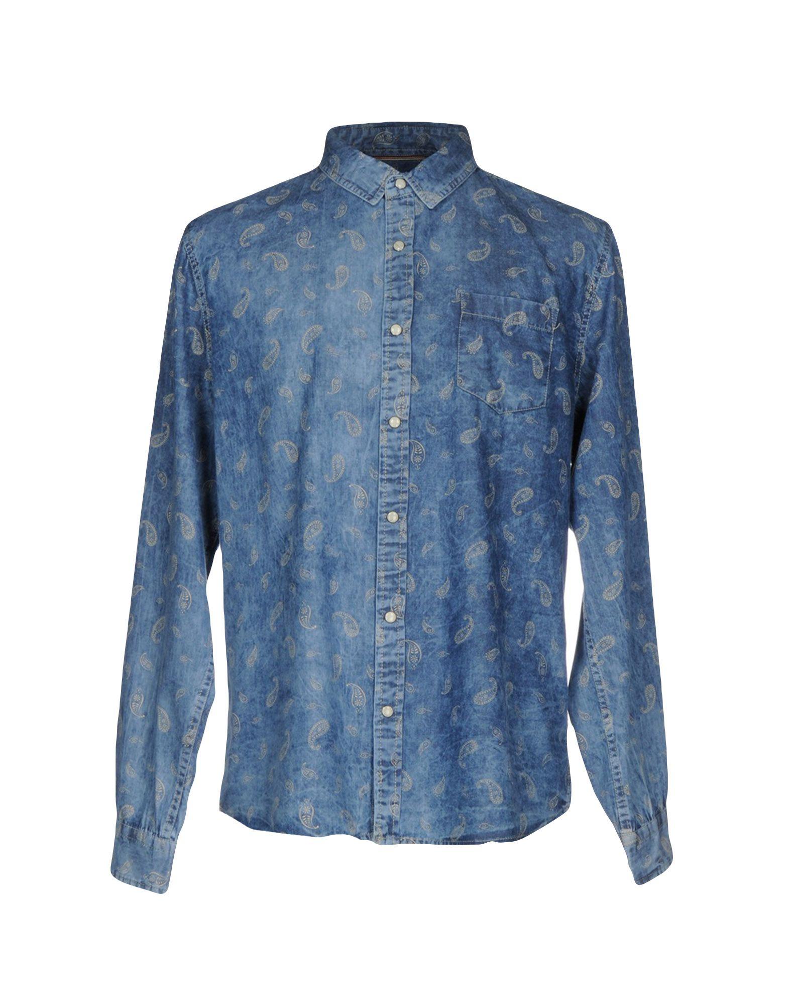 BRAVE SOUL Джинсовая рубашка джемпер brave soul brave soul br019ewulf49