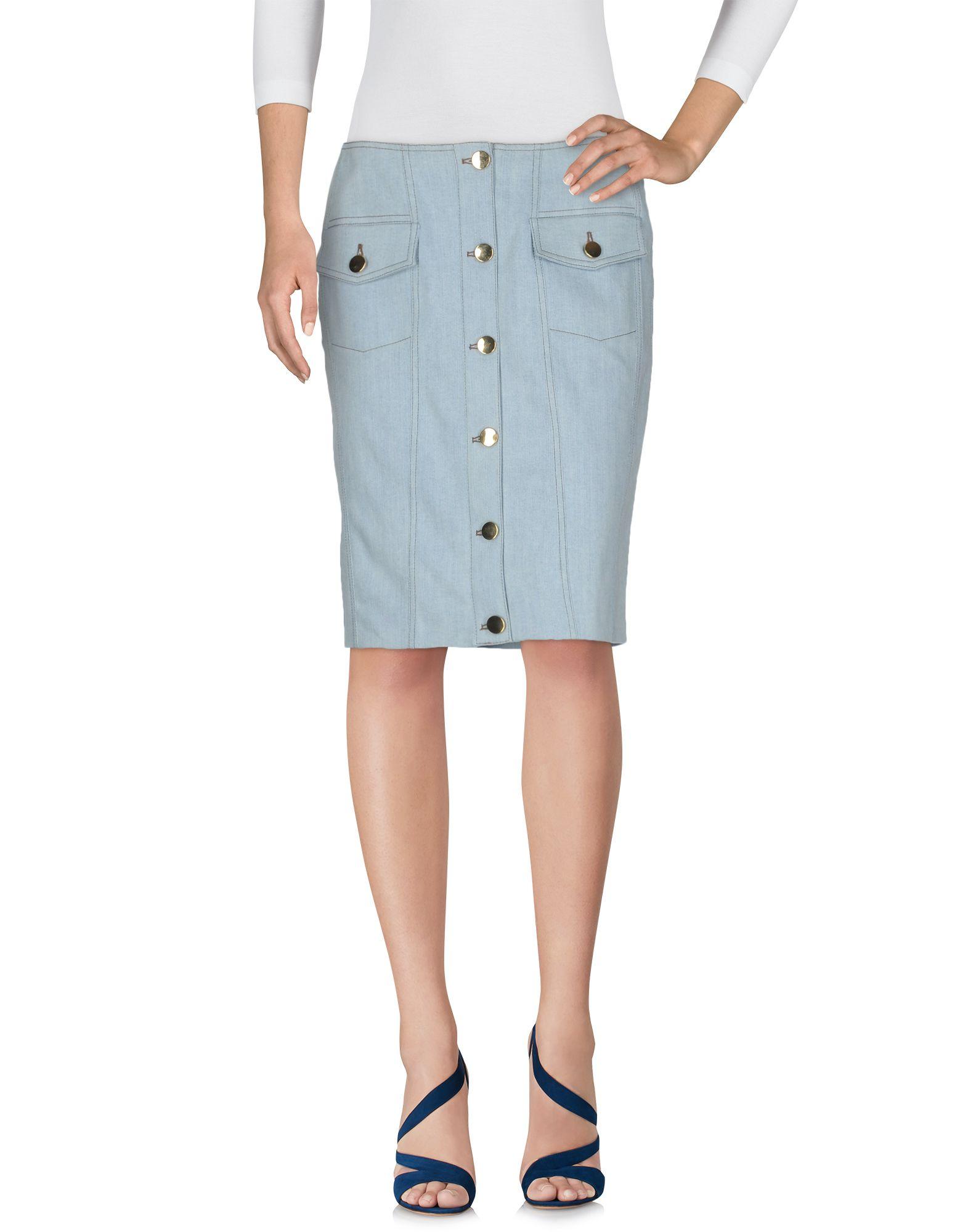 MOSCHINO COUTURE Джинсовая юбка цена 2017