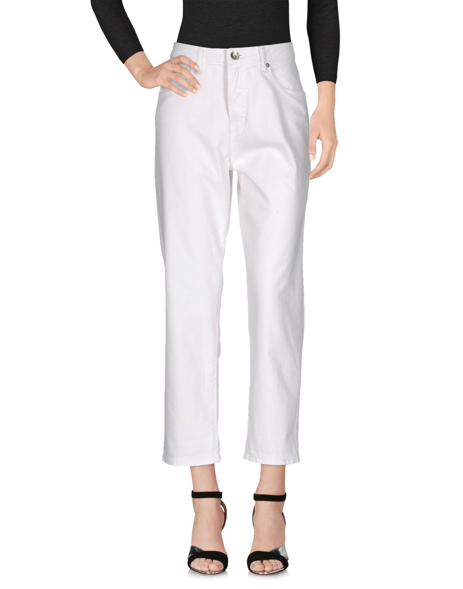 LOVE MOSCHINO Damen Jeanshose Farbe Weiß Größe 4 jetztbilligerkaufen